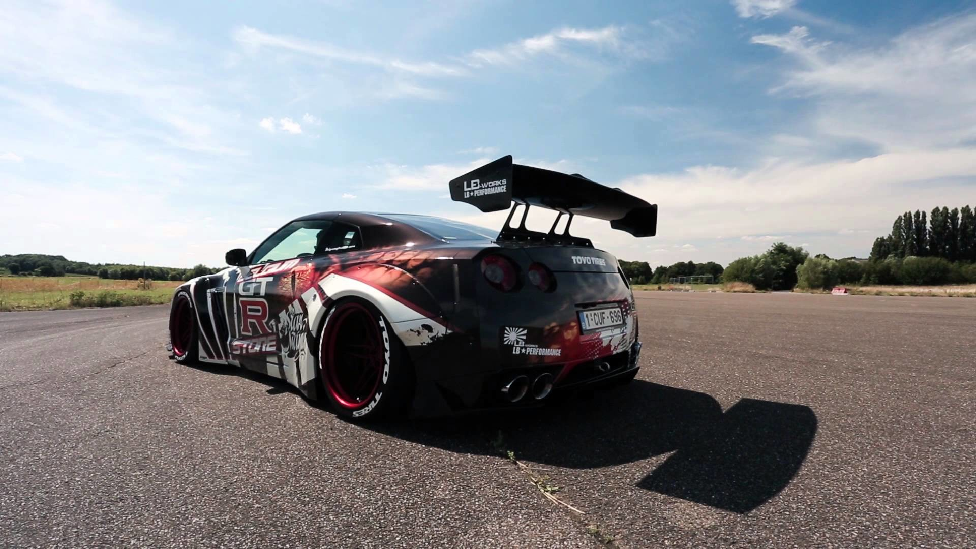 1920x1080 Liberty Walk Nissan GT-R w/ Innotech Performance Exhaust - Startup and  revving - YouTube