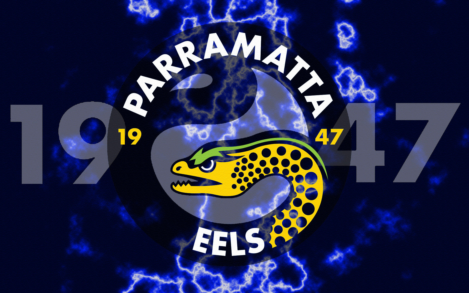 1920x1200 Parramatta Eels 1947 Lightning Wallpaper by Sunnyboiiii