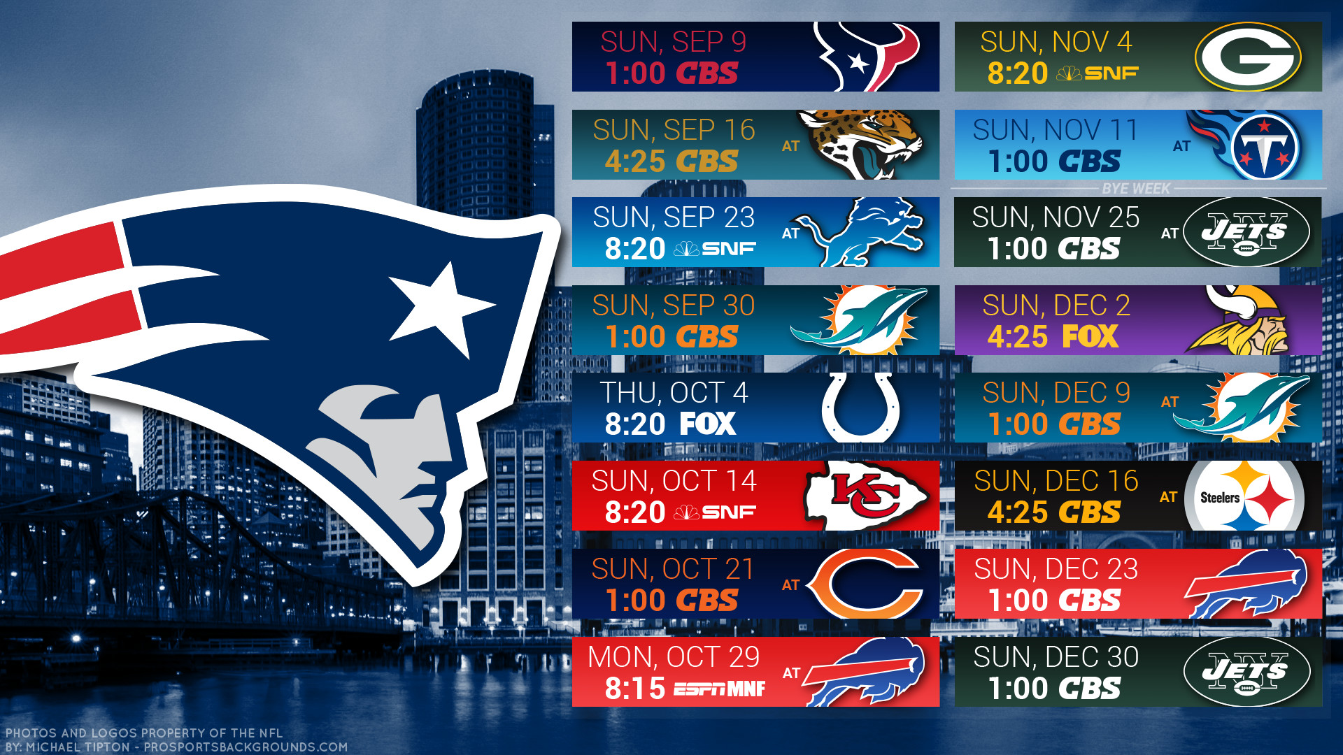 1920x1080 New England Patriots 2018 schedule city logo wallpaper free for desktop pc  iphone galaxy and andriod ...