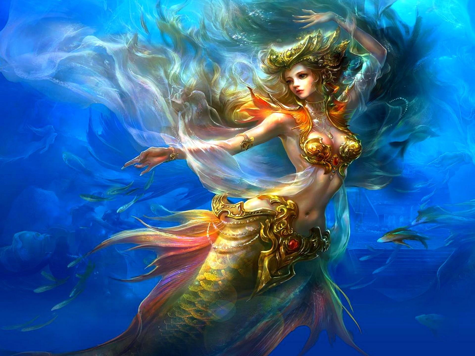 Anime Mermaid
