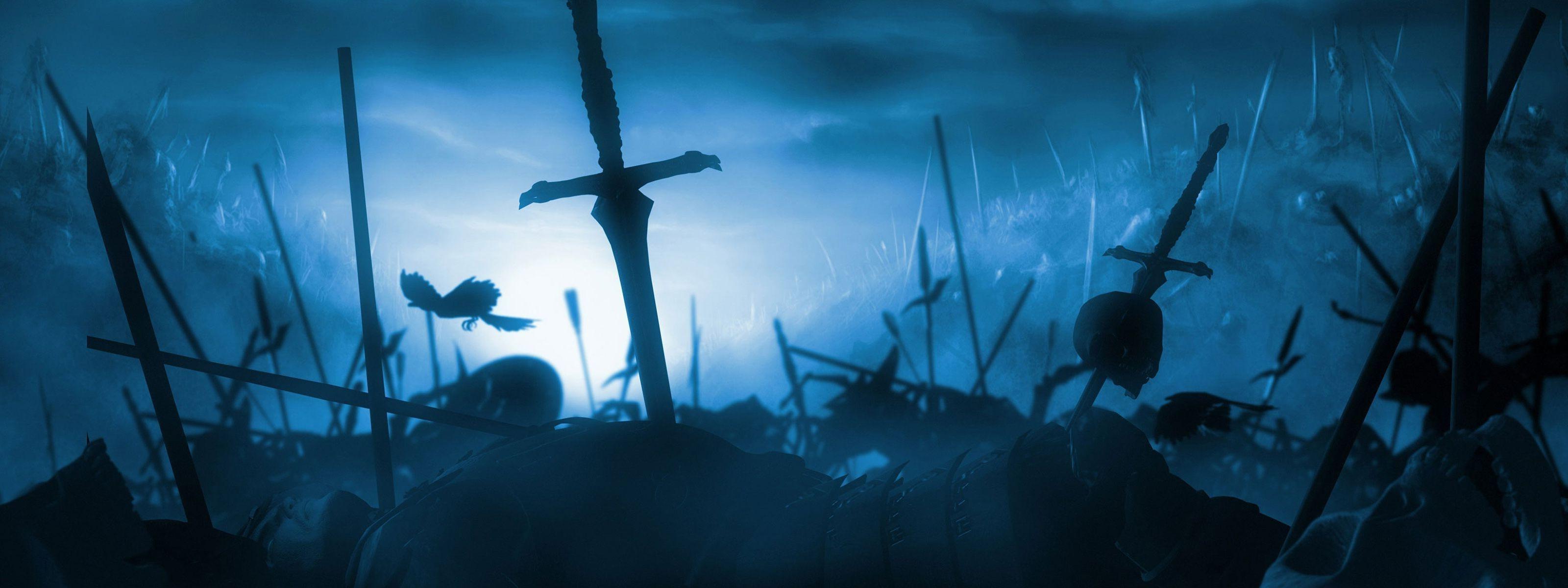 3d Sword Games Hd Wallpaper For Mobile: Blue Sword Wallpaper (68+ Images
