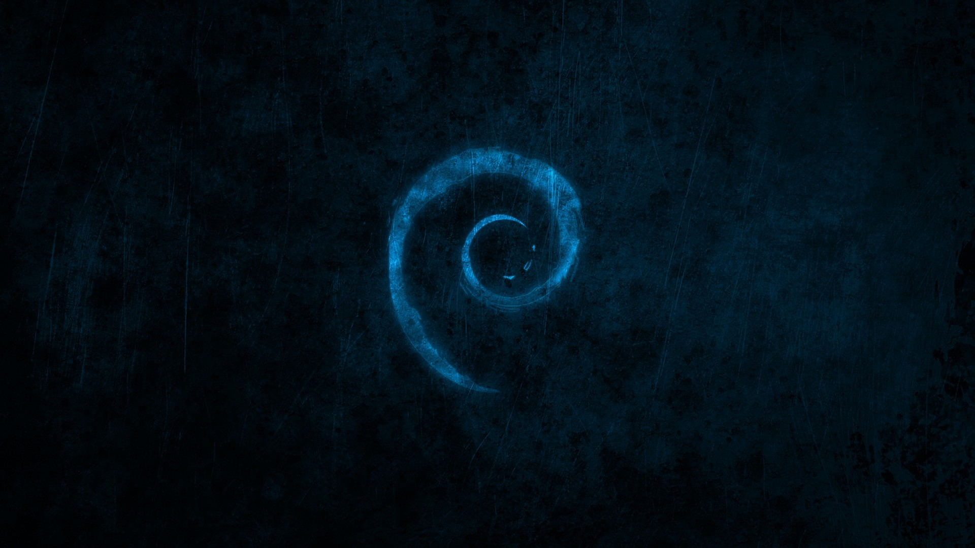 1920x1080 Preview wallpaper linux, debian, brand, logo, spiral