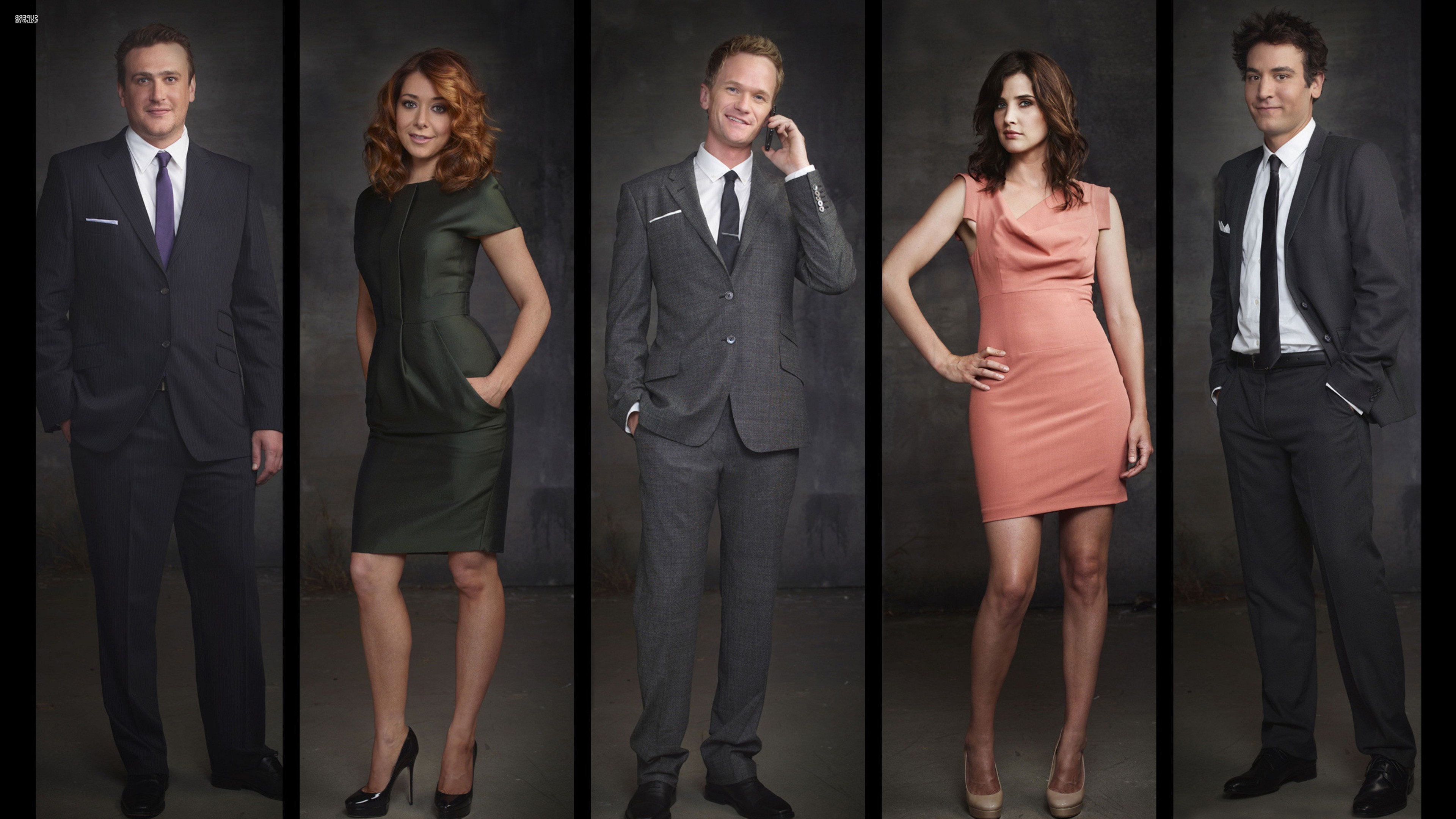 3840x2160 How I Met Your Mother, Neil Patrick Harris, Alyson Hannigan, Cobie Smulders  Wallpapers HD / Desktop and Mobile Backgrounds