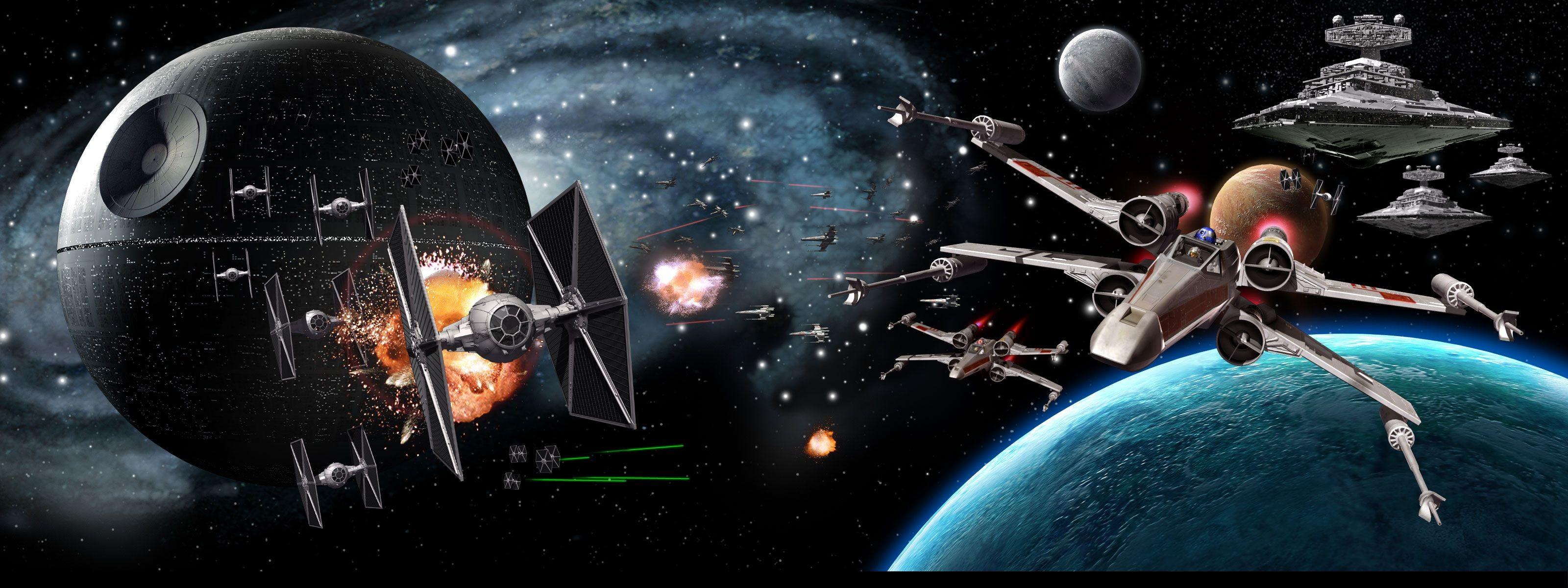 Star Wars Triple Screen Wallpaper 19 Images