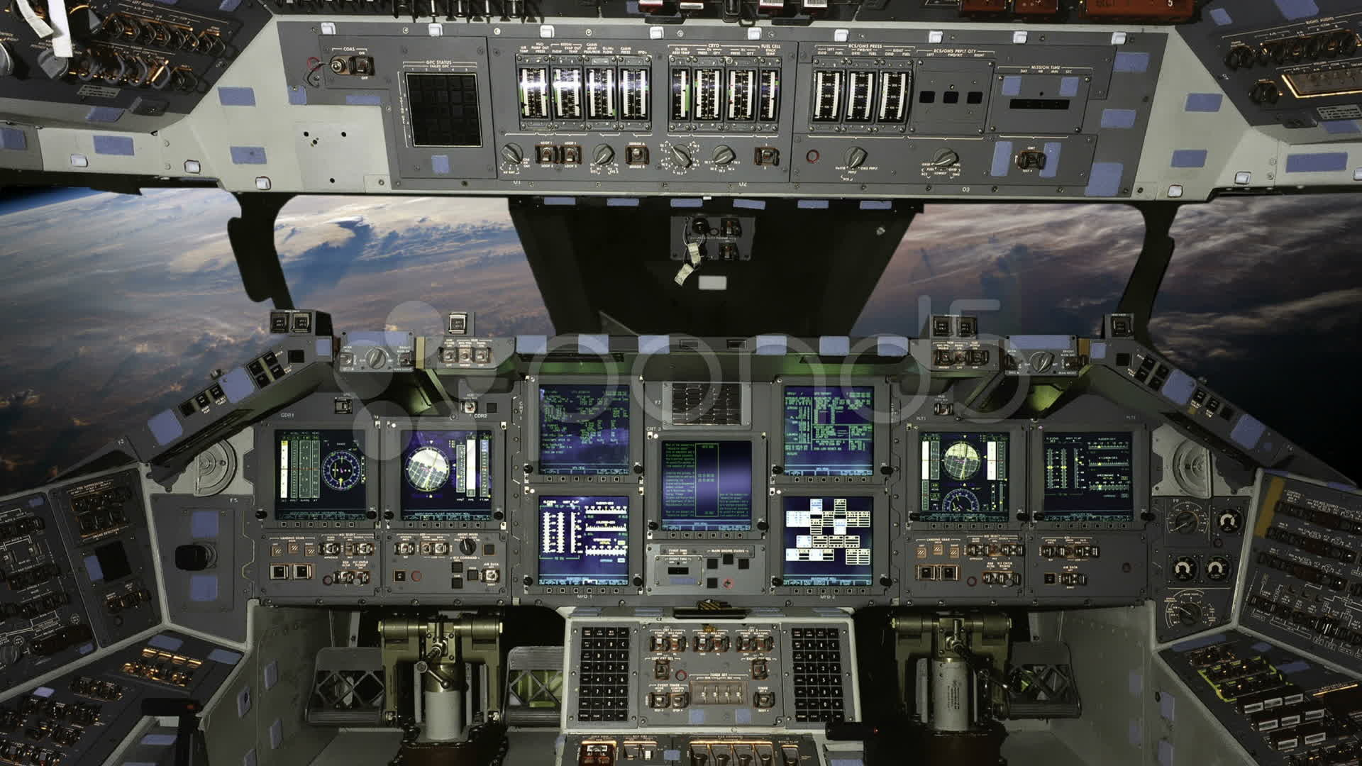 space shuttle home cockpit - photo #14