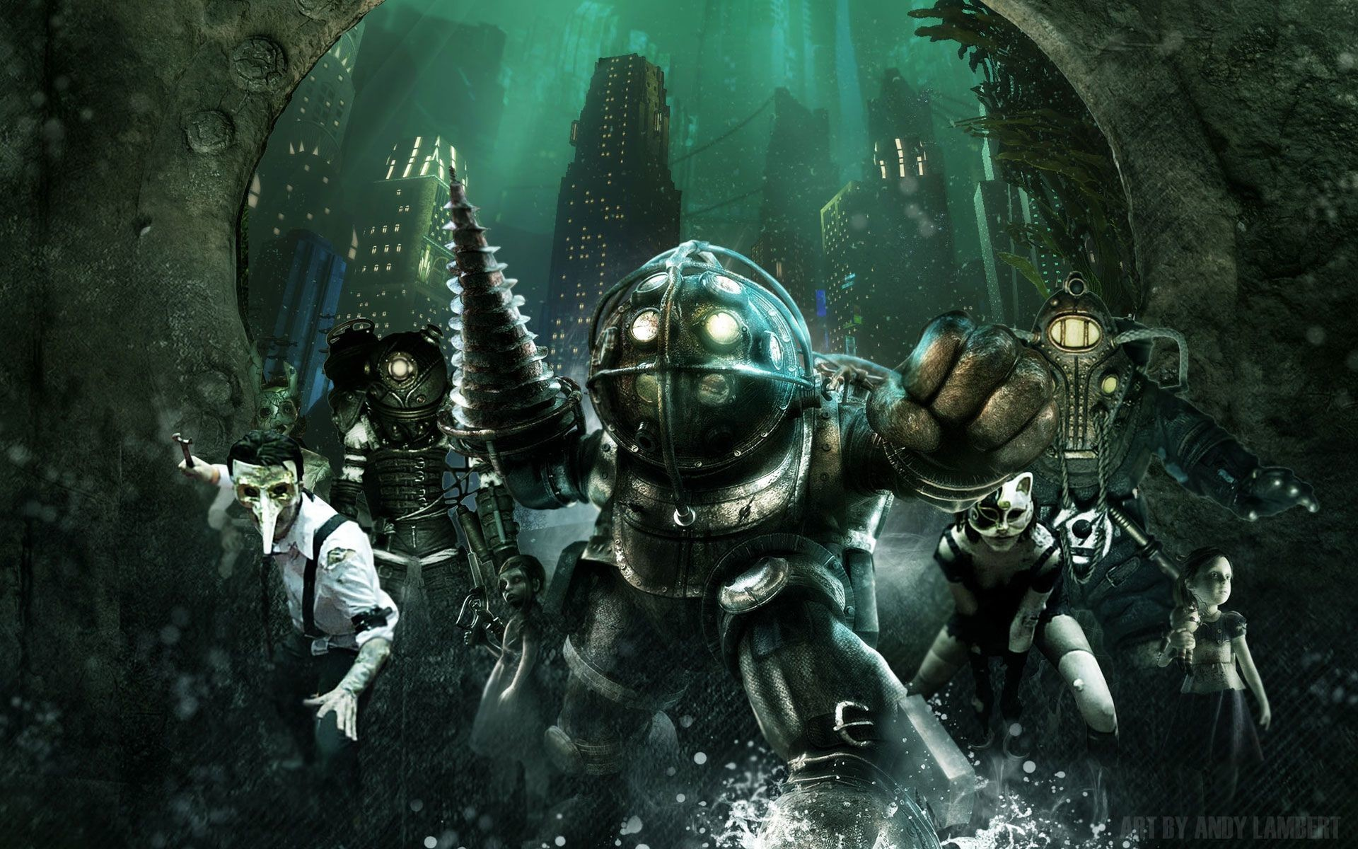 Bioshock Big Daddy Wallpaper 69 Images