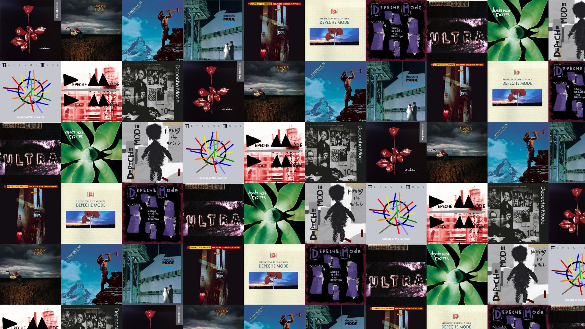 1920x1080 Depeche Mode Violator A Broken Frame Construction Time Wallpaper Â« Tiled  Desktop Wallpaper
