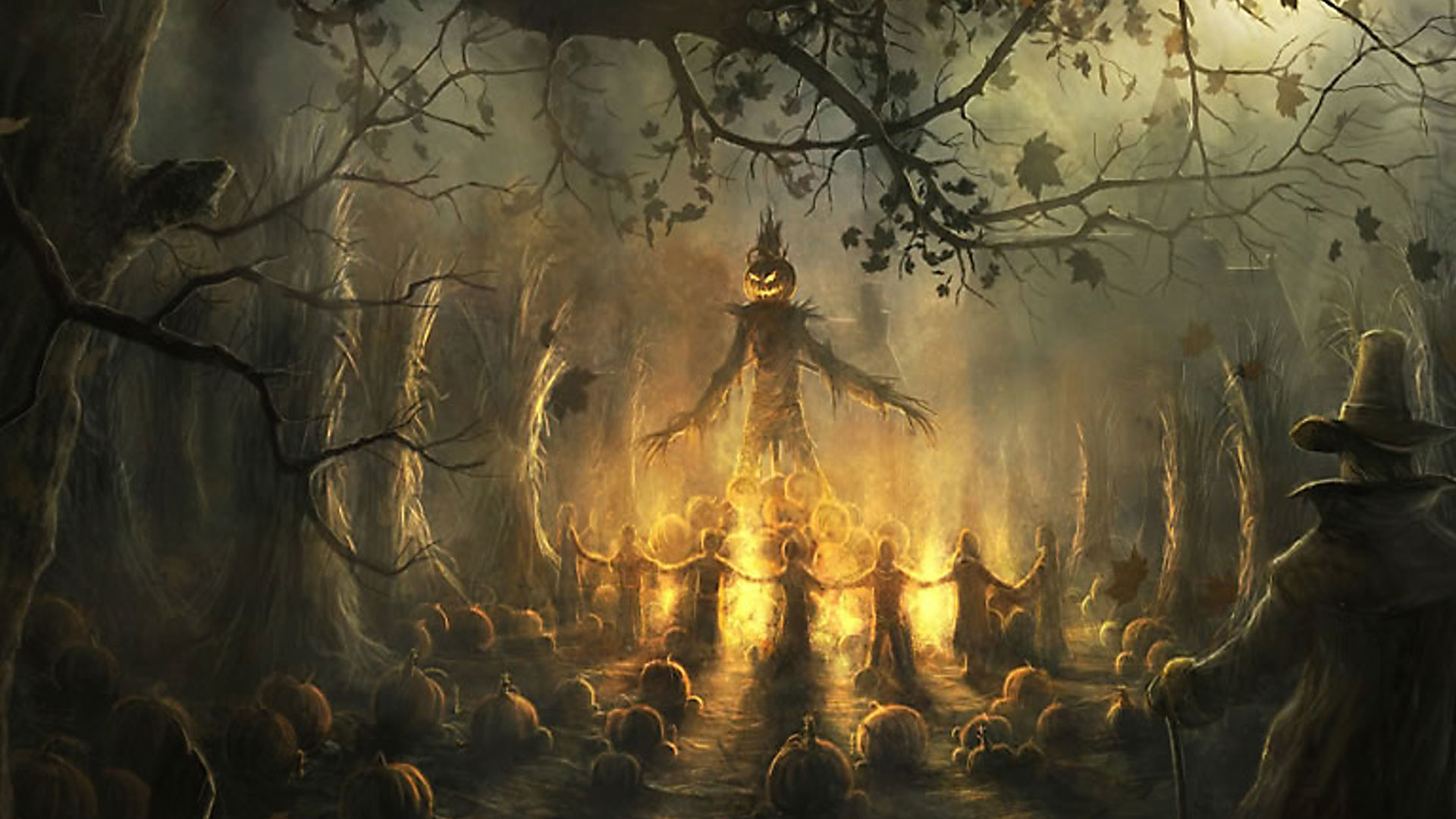 Hd scary wallpapers 63 images - Scary halloween pumpkin wallpaper ...