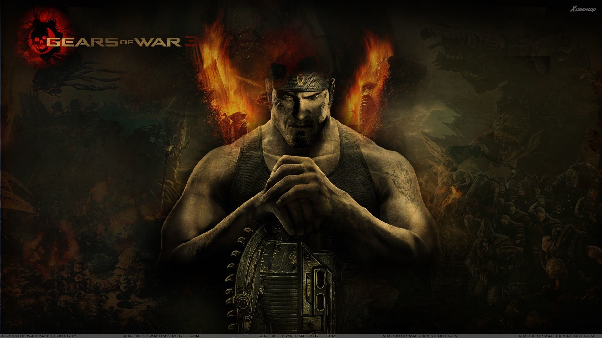 "1920x1080 You are viewing wallpaper titled ""Gears Of War 3 ..."