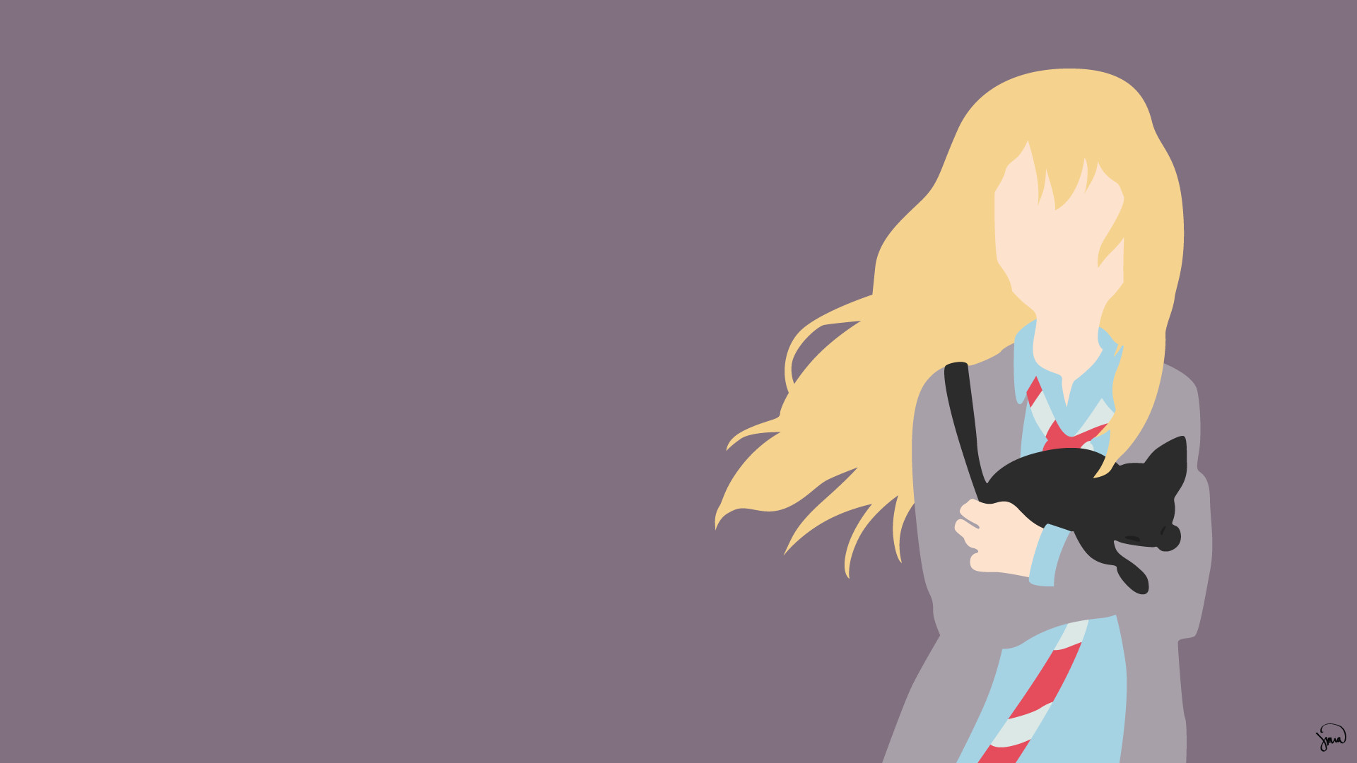 Minimalist Anime Wallpapers (79+ images)