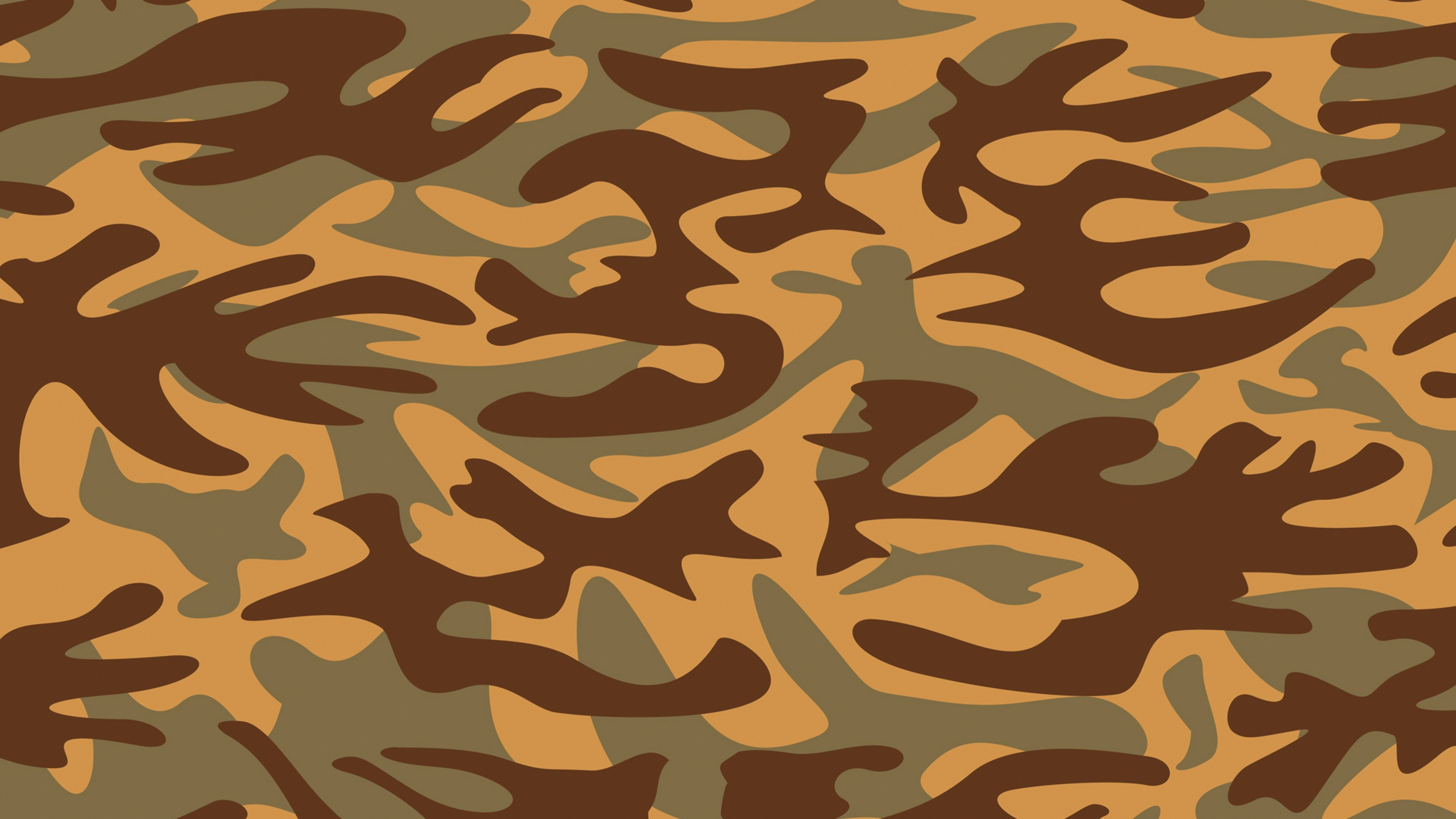 3840x2160 Preview wallpaper camouflage, texture, military