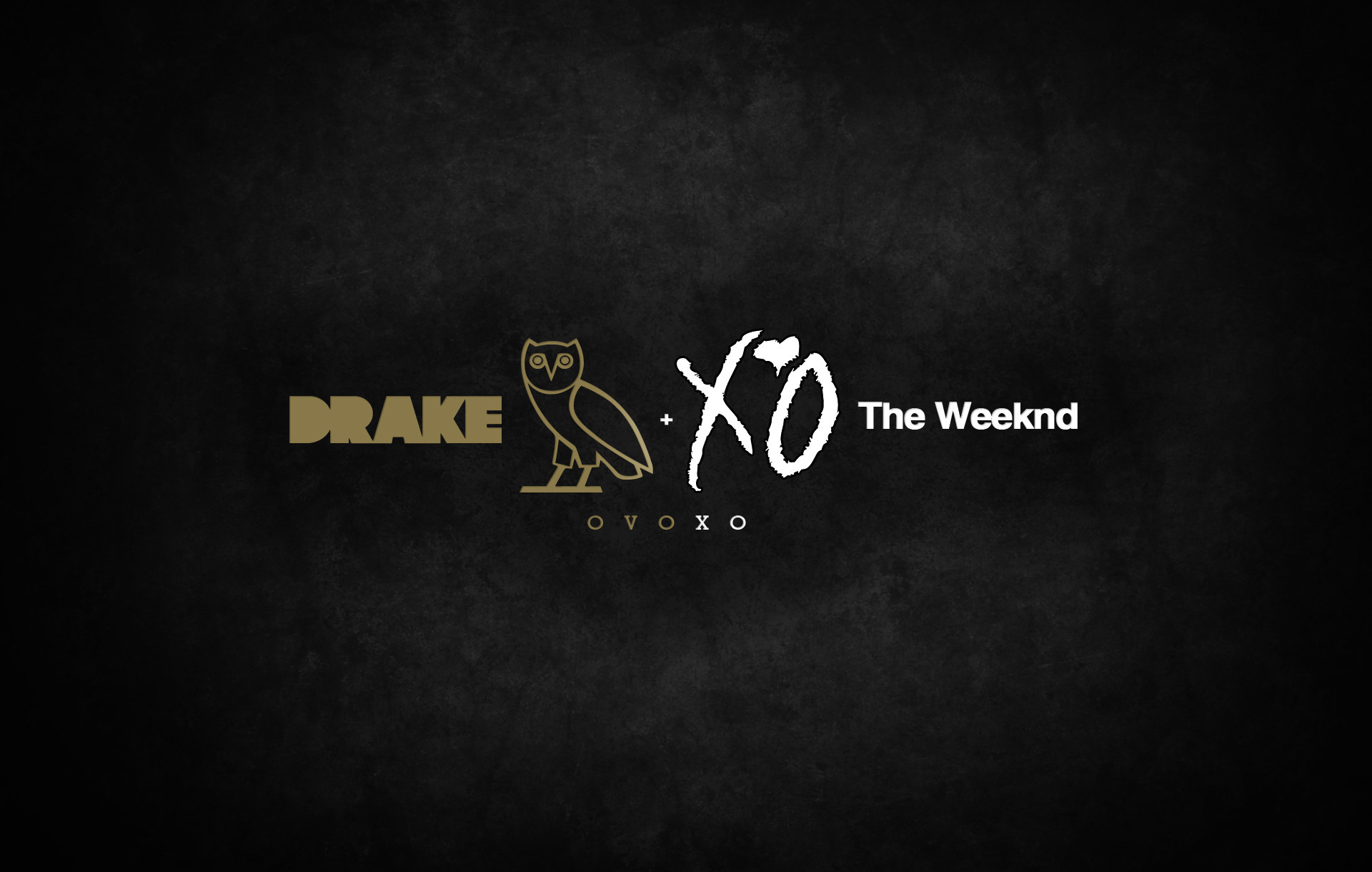 1920x1220 The Weeknd and Drake XO • Rap Wallpapers