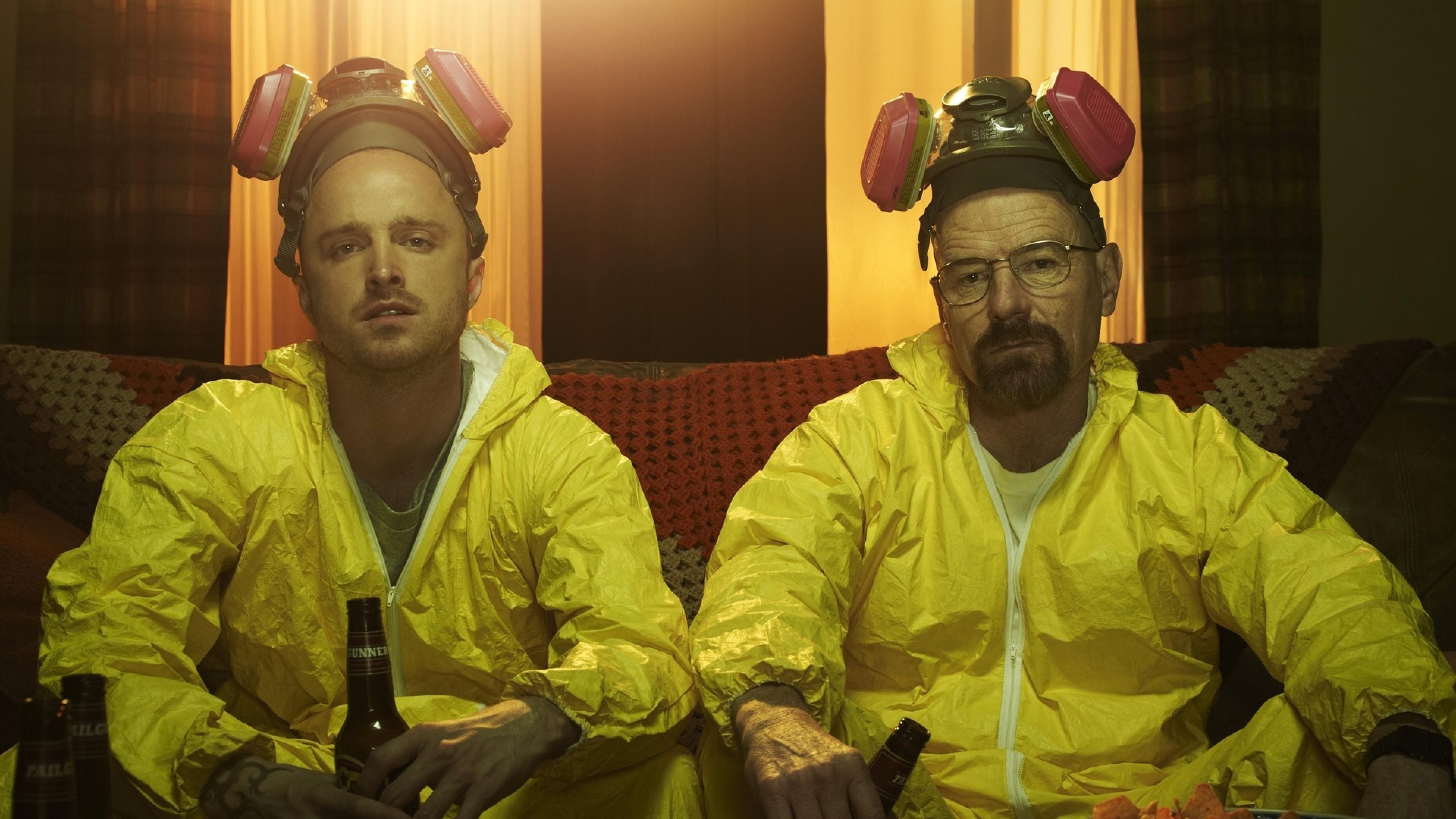 3840x2160 Preview wallpaper breaking bad, walter white, jesse pinkman