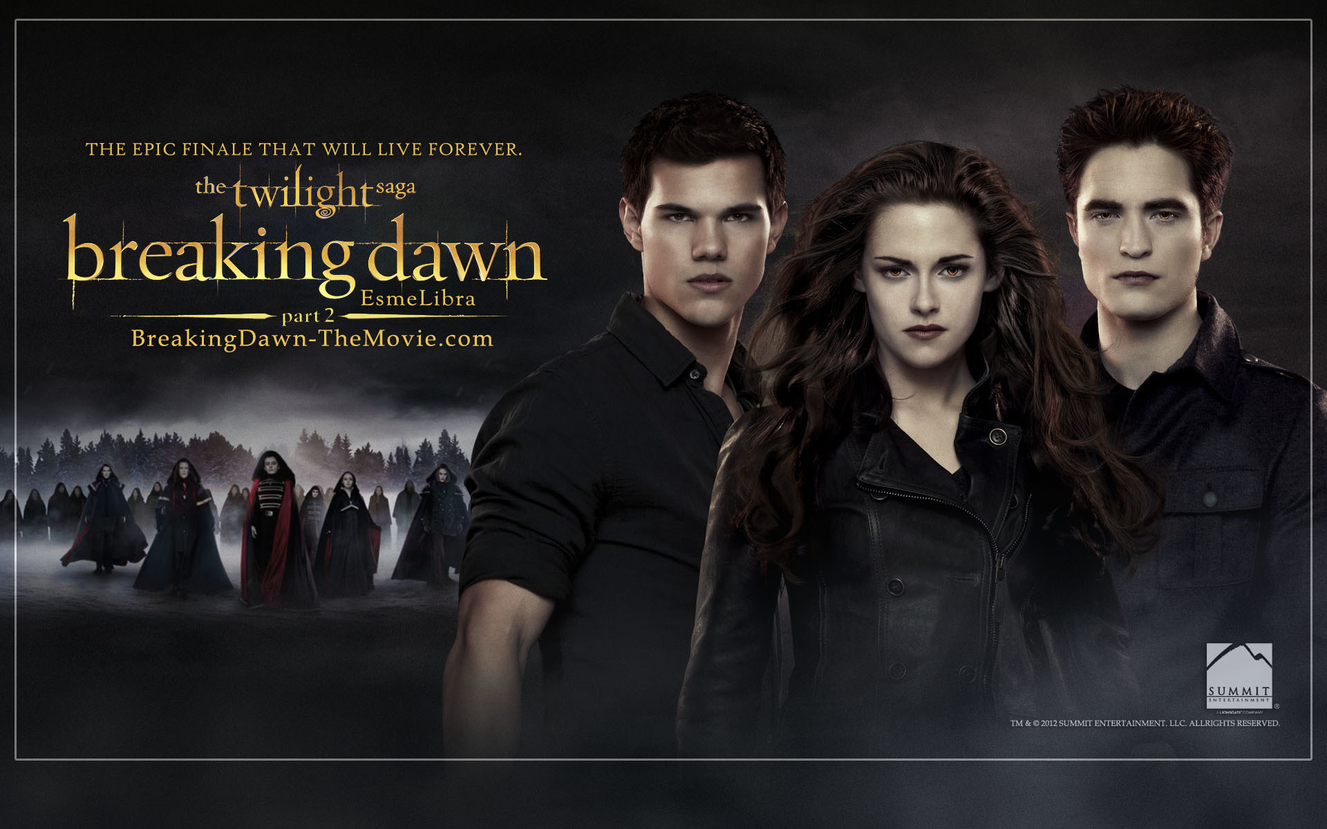 Twilight breaking dawn wallpaper 62 images - Twilight wallpaper ...