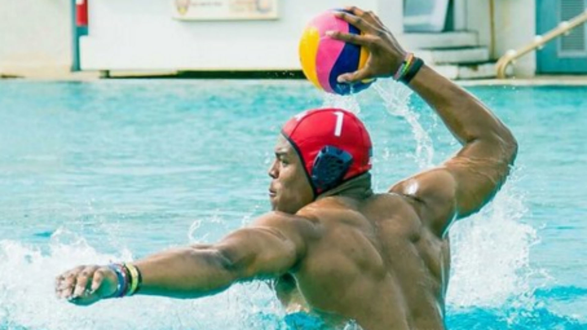 1920x1080 Cam Newton looks like The Hulk playing water polo | NFL | Sporting News