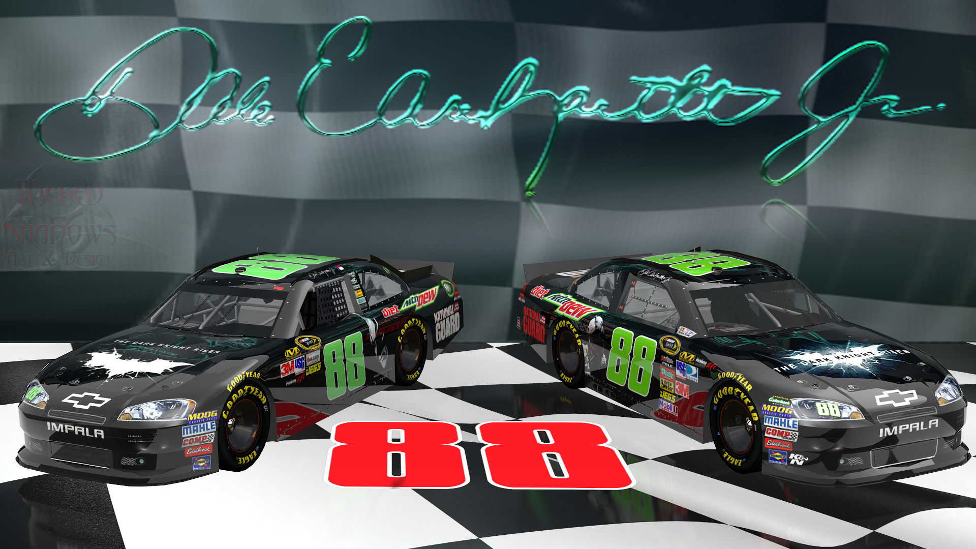 1920x1080 Dale Earnhardt Jr Dale Earnhardt Jr Victory Lane Dark Knight wallpaper .