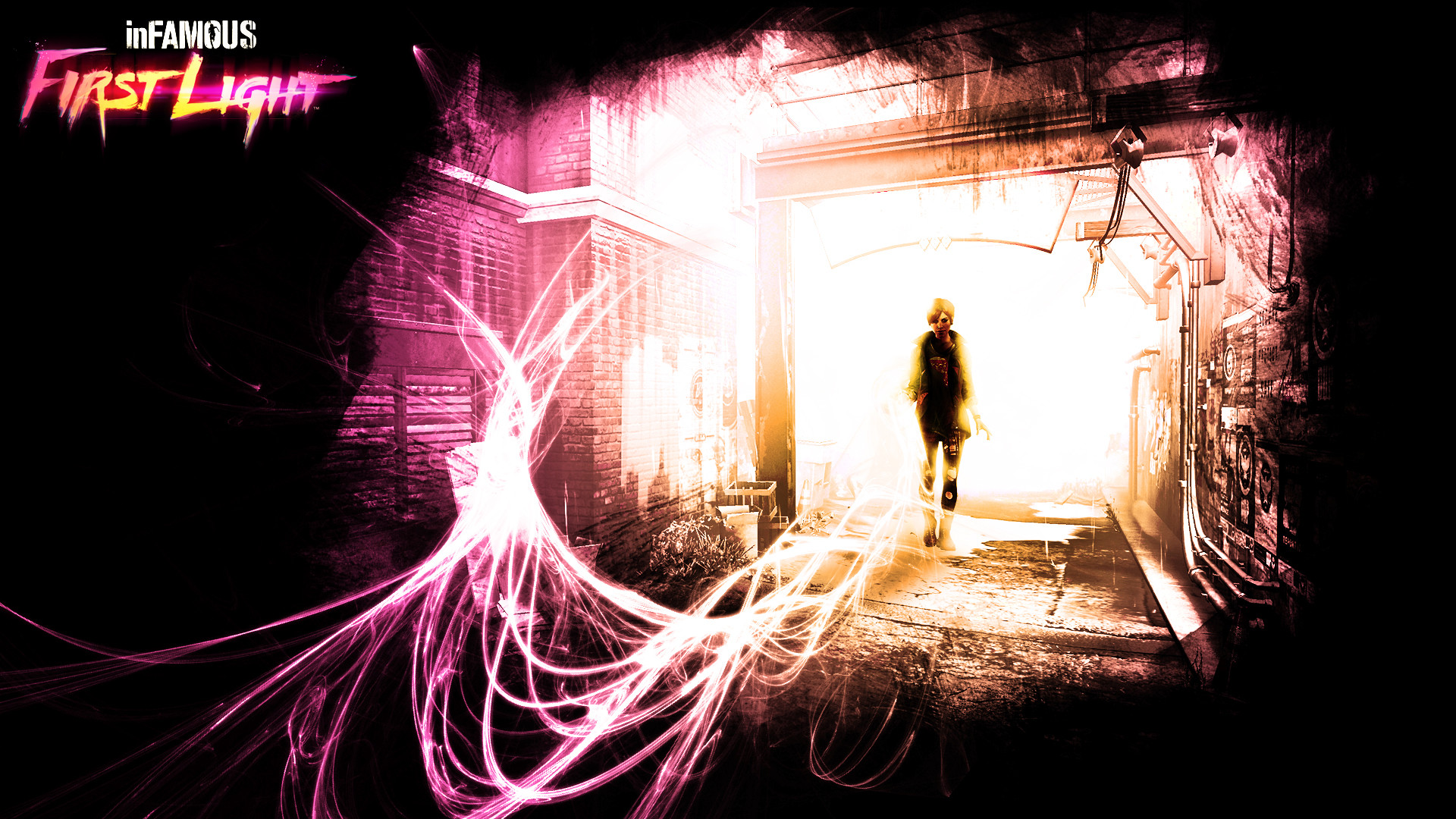 1920x1080 inFAMOUS: First Light HD Wallpaper 14 - 1920 X 1080