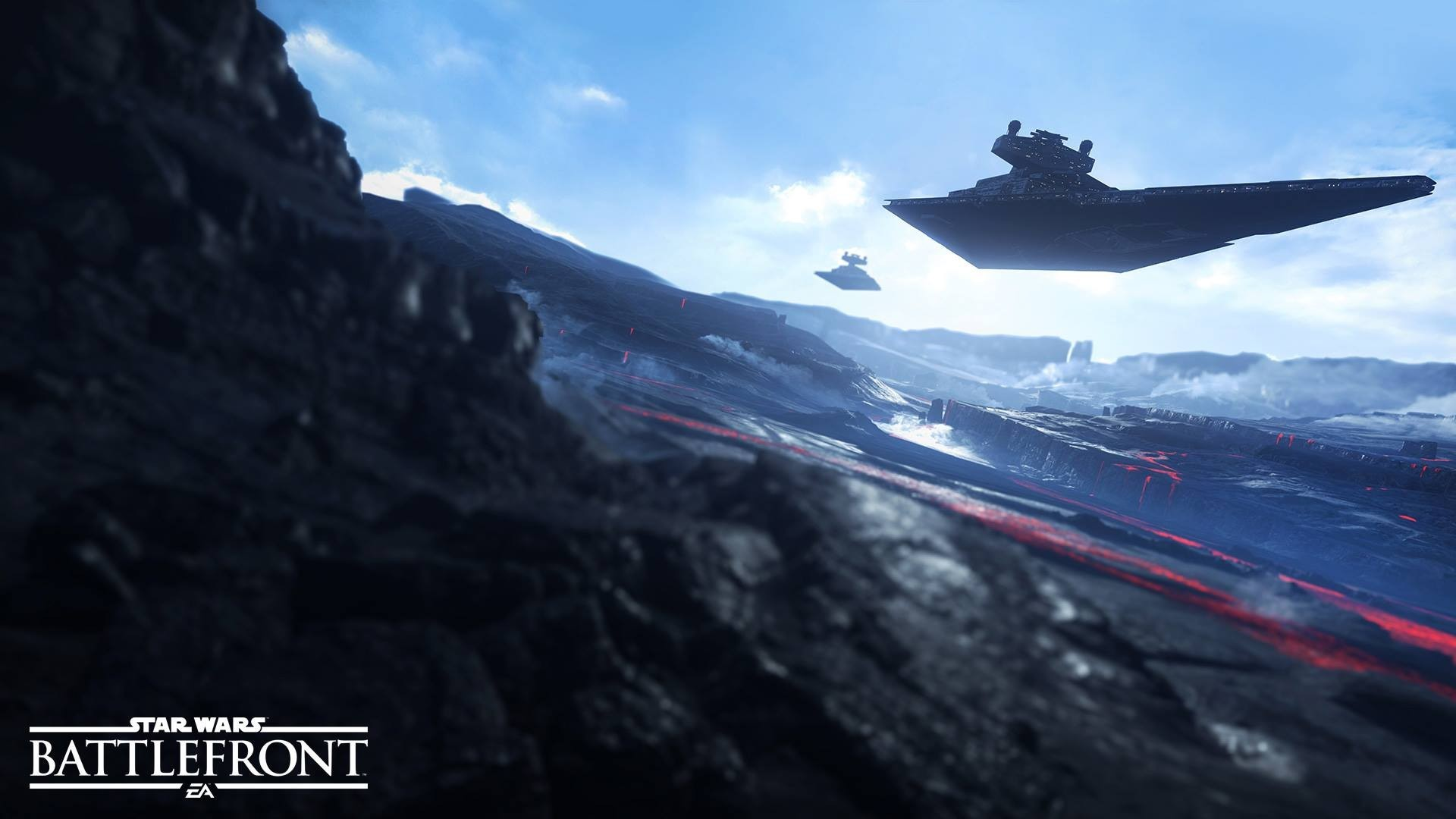1920x1080 Star Wars: Battlefront, Star Wars, Star Destroyer, Galactic Empire,  Sullust, Video Games, Spaceship Wallpapers HD / Desktop and Mobile  Backgrounds