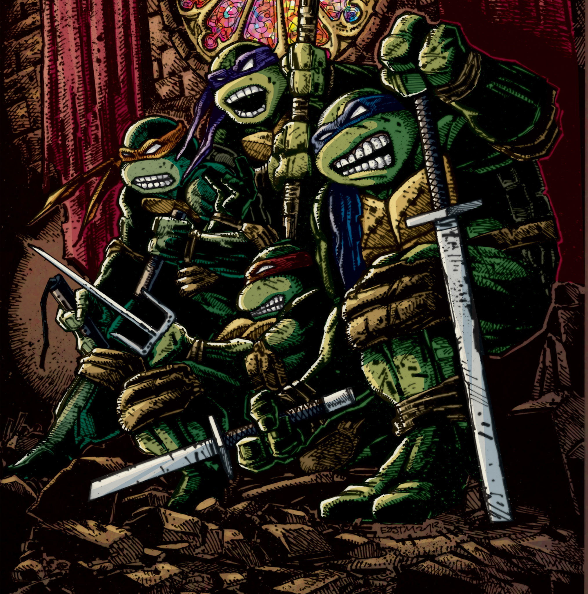 Ninja Turtles Wallpaper: Teenage Mutant Ninja Turtles Wallpapers (66+ Images