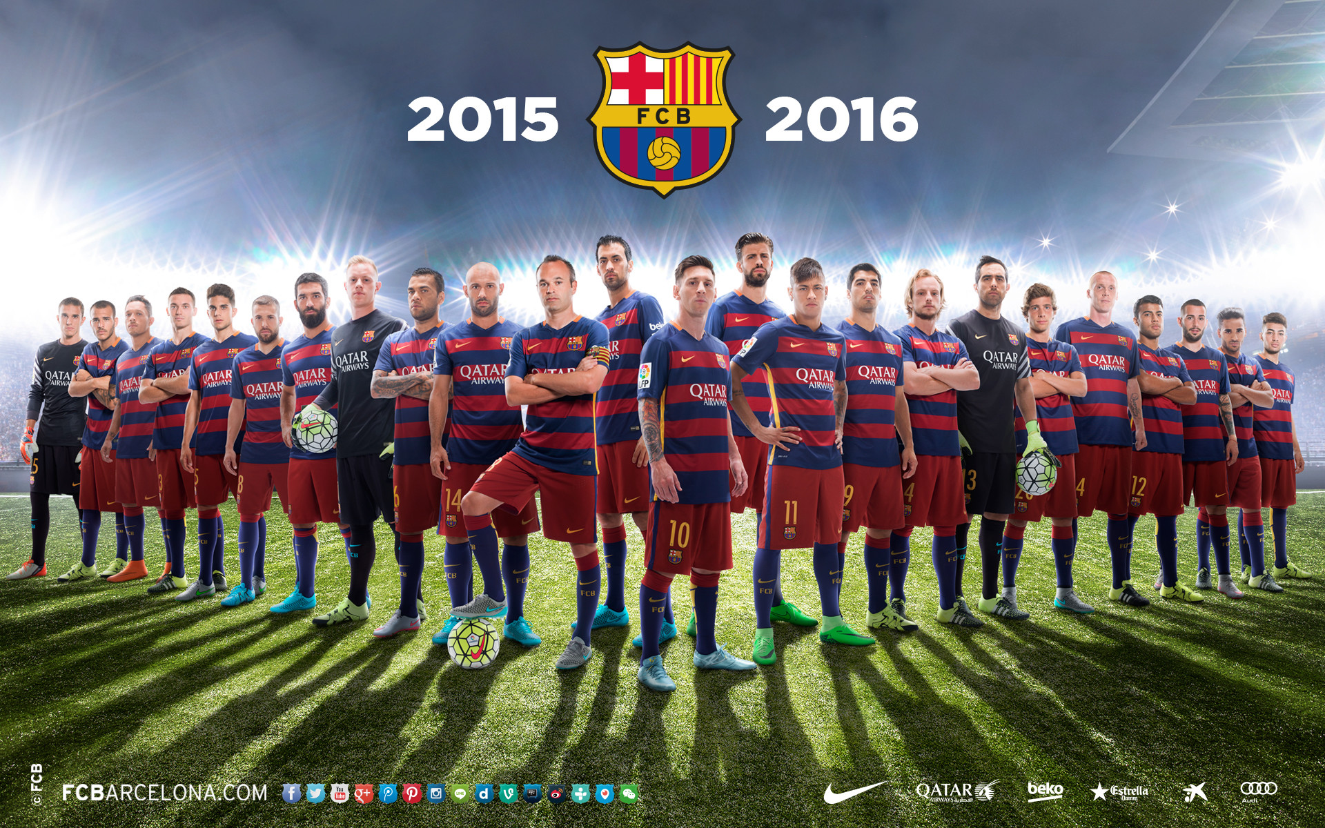 1920x1200 Quality Cool FC Barcelona Wallpapers