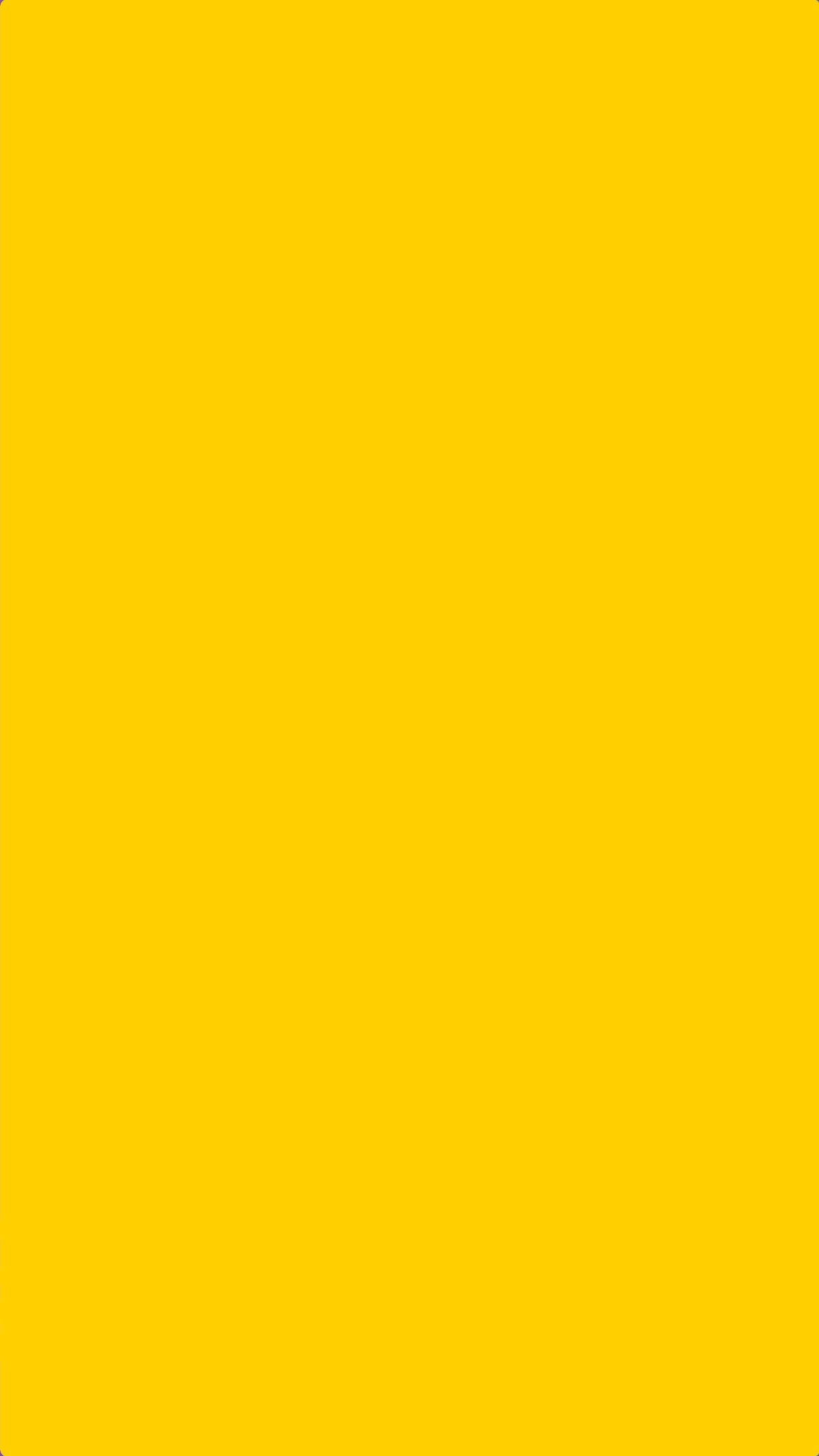 1242x2208 Solid Yellow Color iPhone