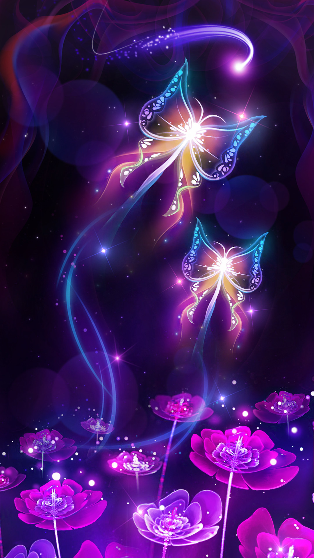 Purple Butterfly Wallpaper 77 Images