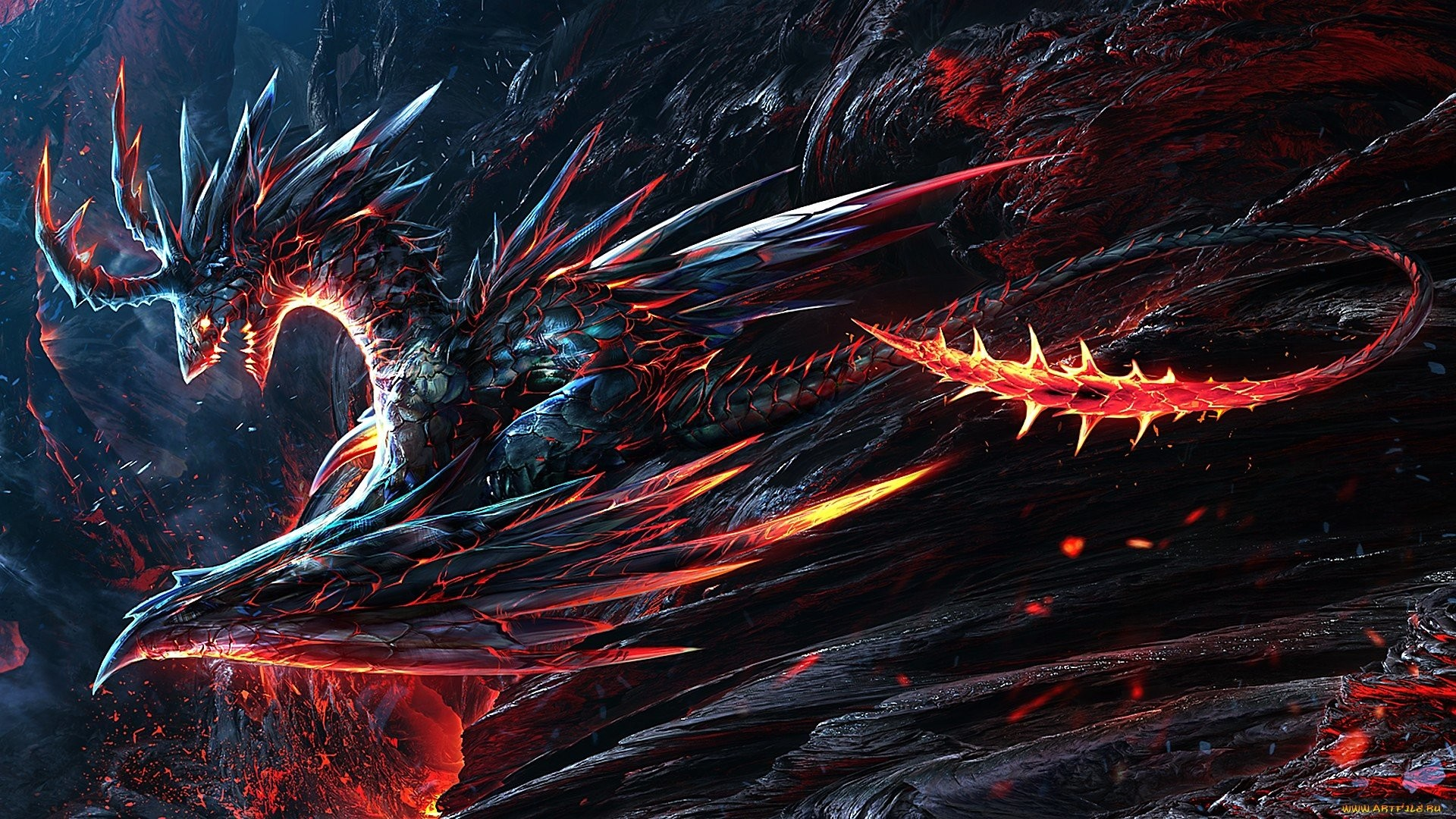 1920x1080 Lava Dragon Wallpapers | Lava Dragon Wallpapers | Pinterest | Lava and  Dragons