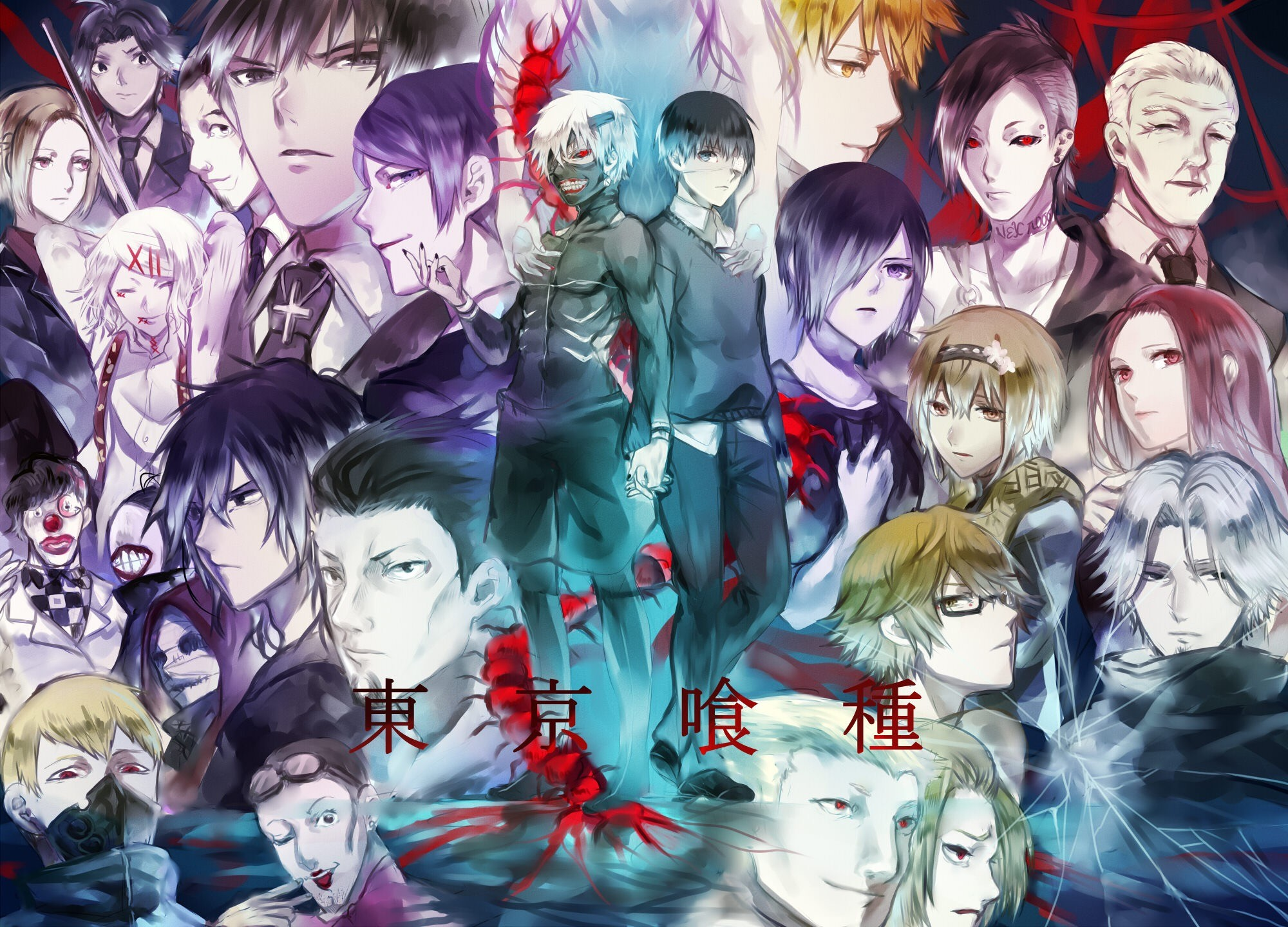 Tokyo Ghoul Character Wallpaper 74 Images