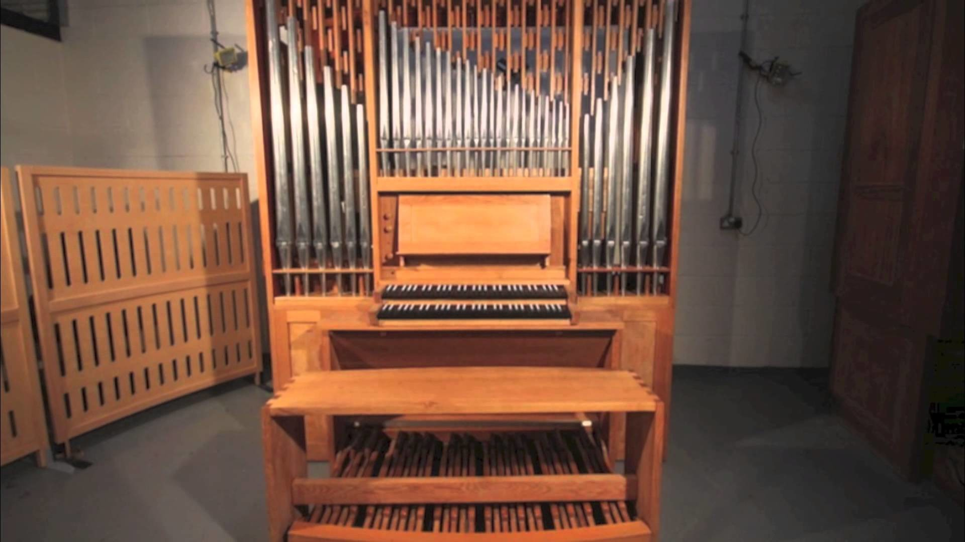 1920x1080 Two Manual and Pedal German Pipe Organ for Sale. Located in the UK. -  YouTube