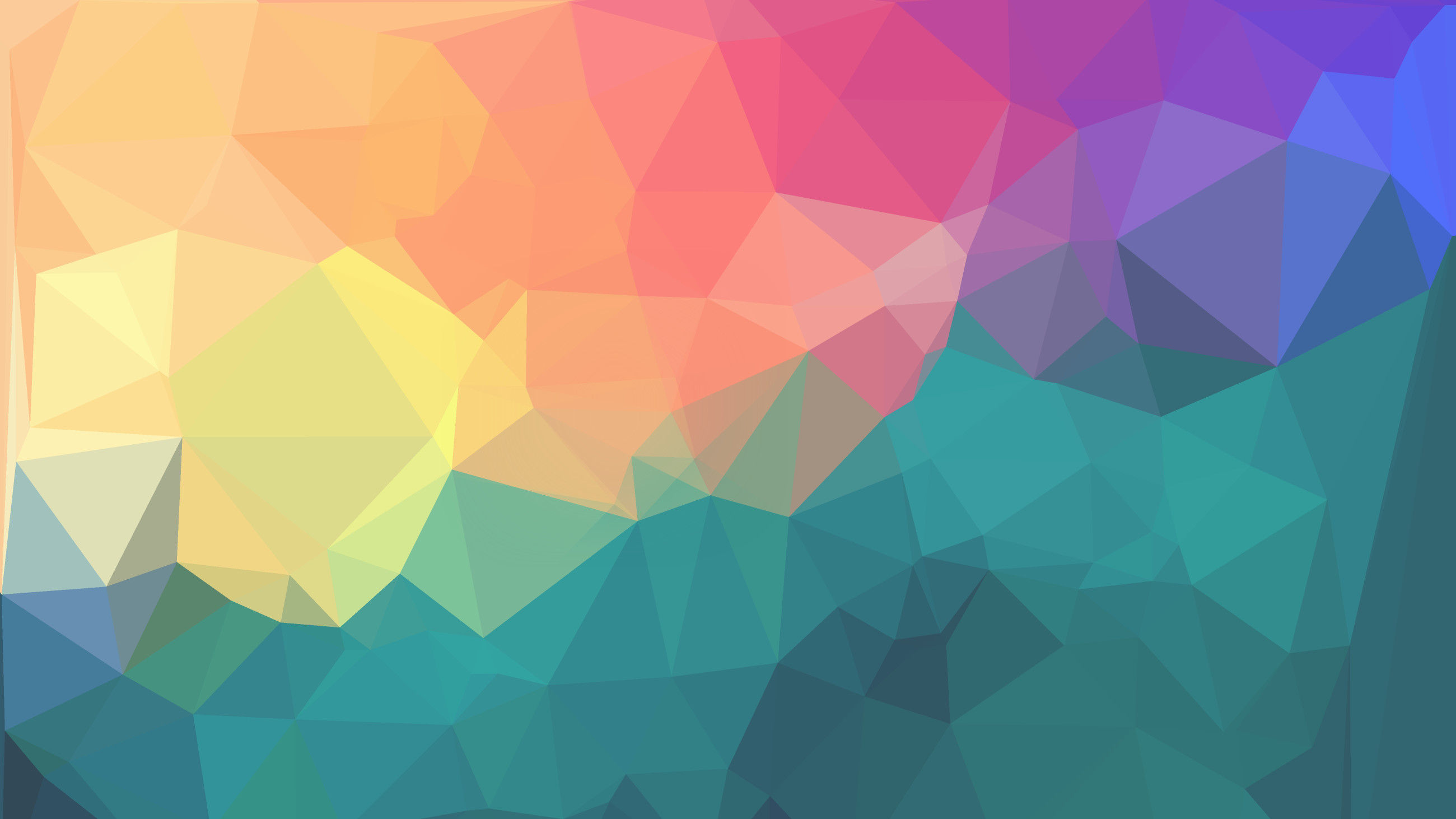 2600x1462 ... Wallpaper Geometric Color 22 2K UHD by AIRWORLDKING