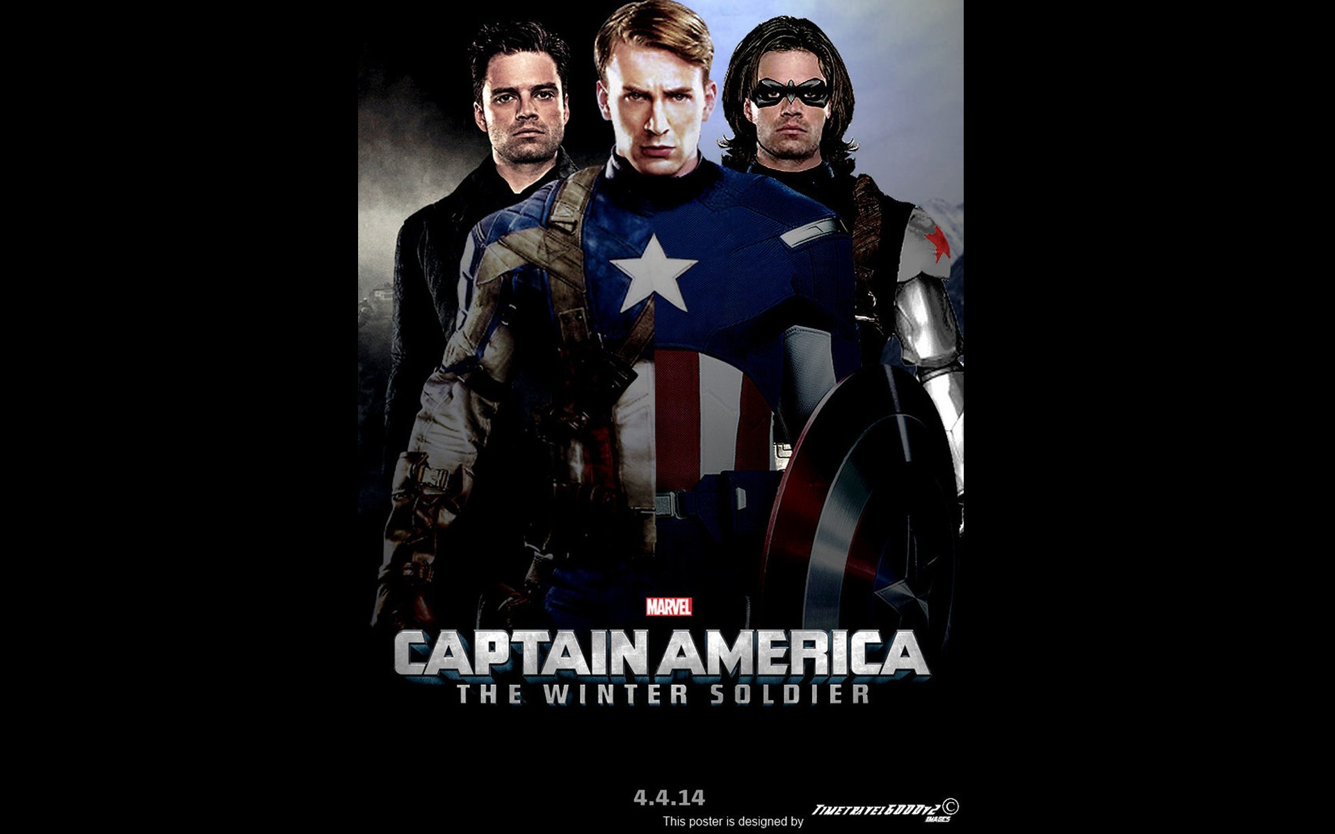 1920x1200 Movie Captain America The Winter Soldier Wallpaper 1920×1200