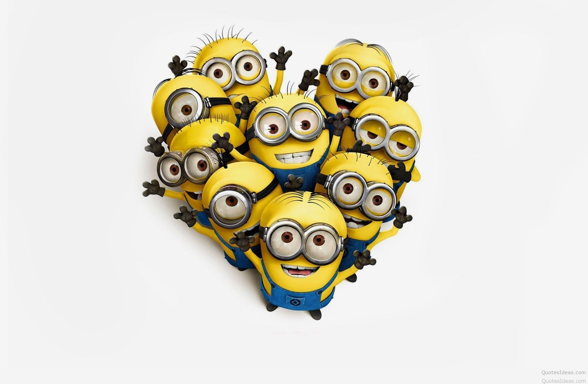 1920x1254 Minion Love Wallpaper