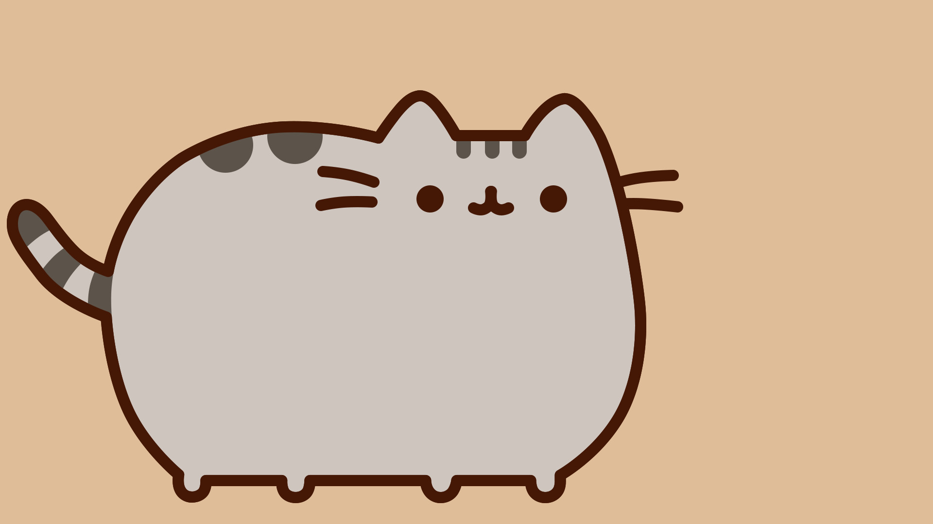 1920x1080 Pusheen Cat Wallpaper