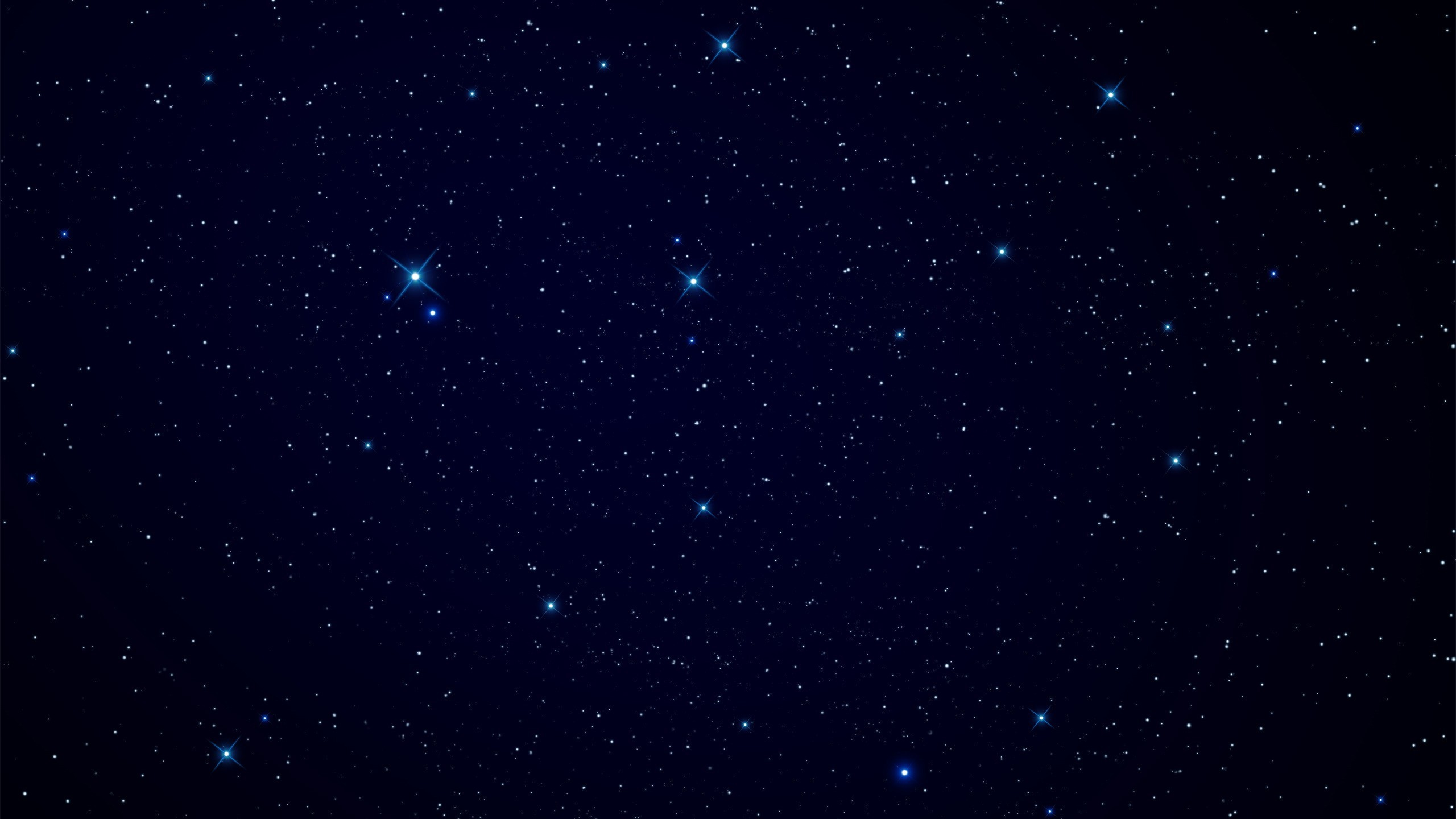 Night Sky Stars Background Psdgraphics - HD 2560×1440