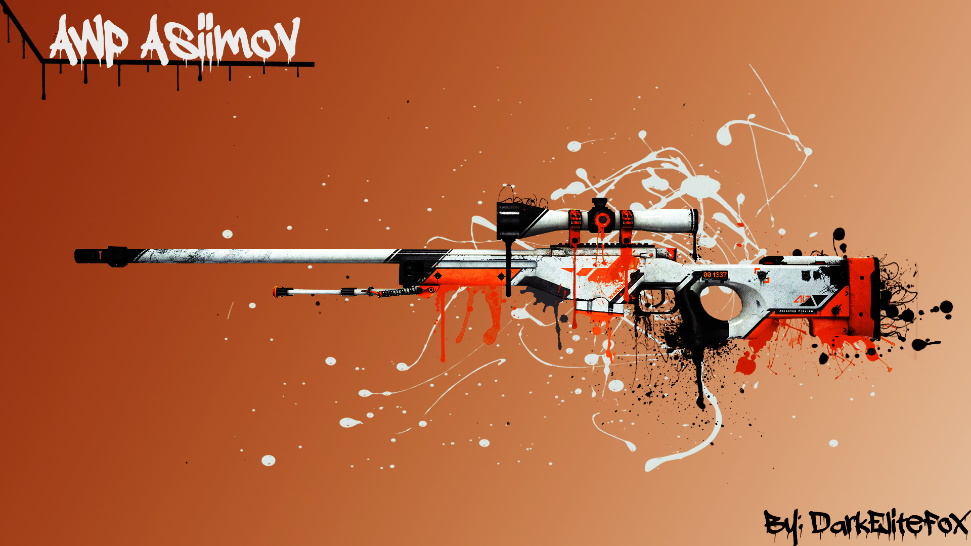 1920x1080 AWP Asiimov Wallpaper picture - ID: 2158