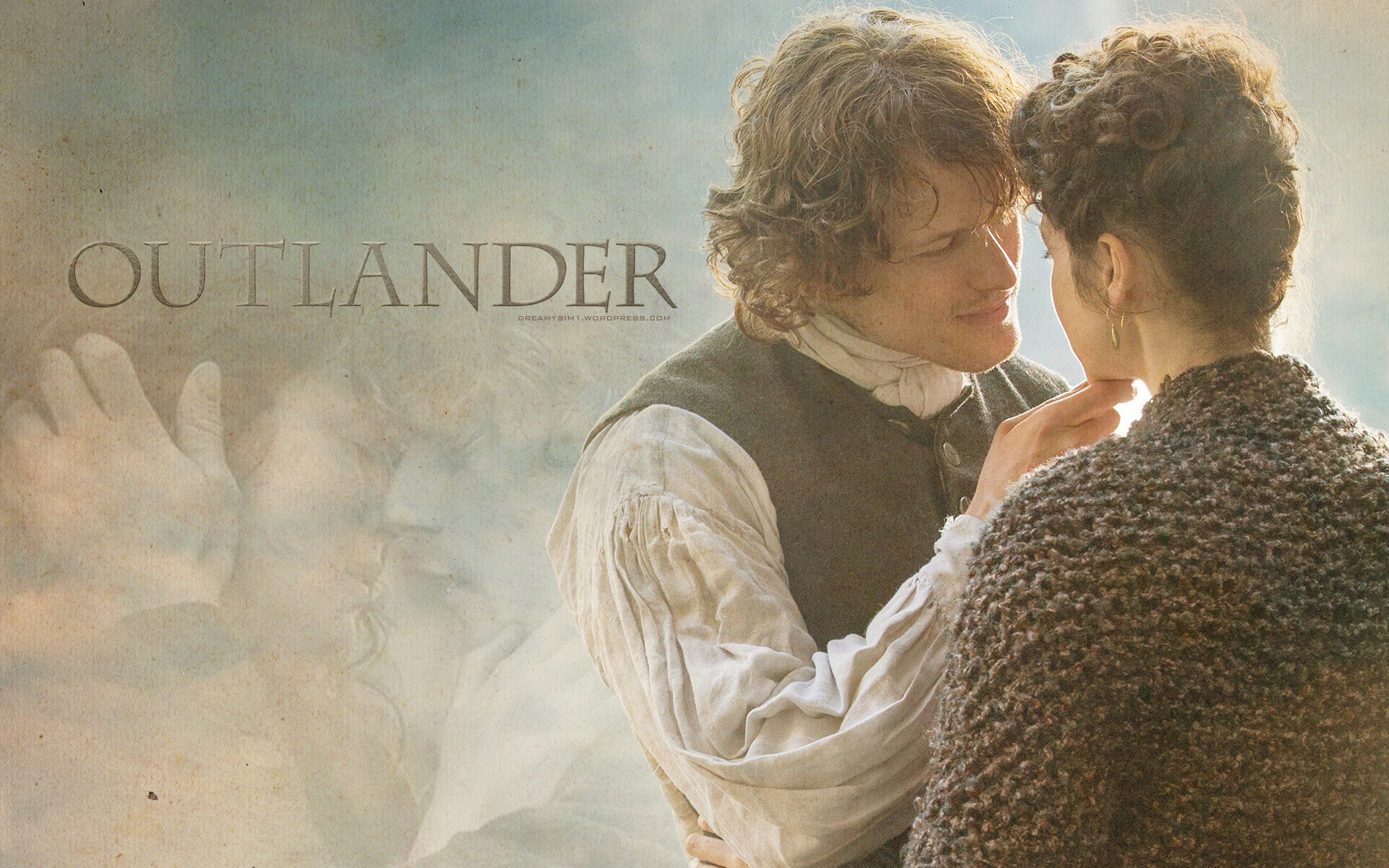 1920x1200 New Jamie & Claire Outlander Wallpaper Made by @DreamySim1 4 comments