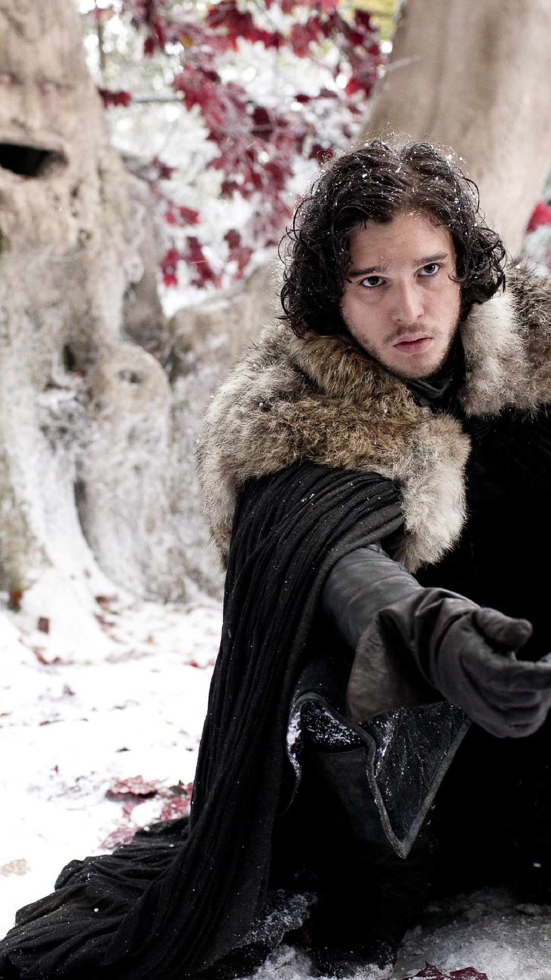 1080x1920 Jon Snow in Game Of Thrones 4K Ultra HD wallpaper | 4k-Wallpaper.Net