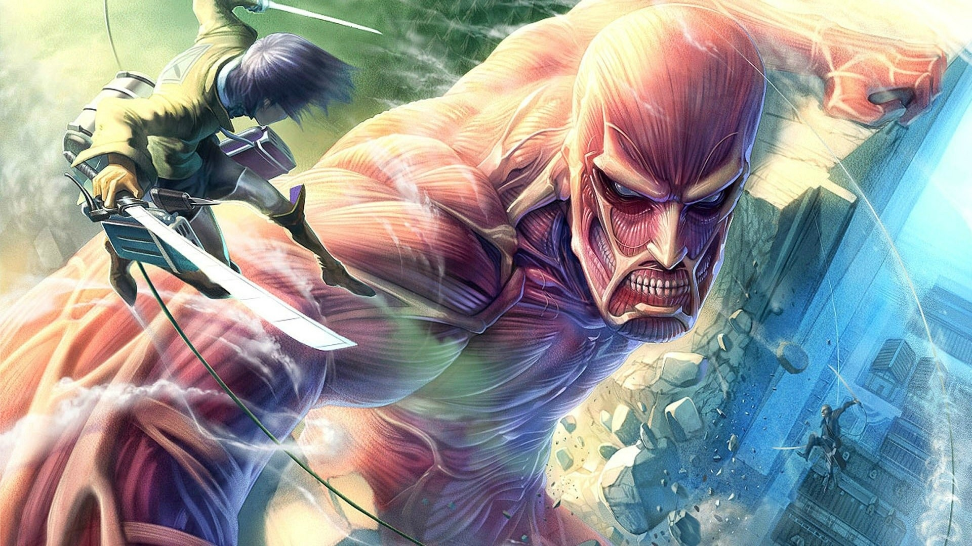 1920x1080 HD Wallpaper | Hintergrund ID:557030.  Anime Attack On Titan