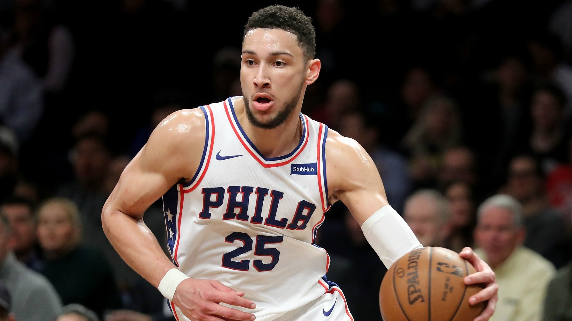 1920x1080 Philadelphia 76ers guard Ben Simmons