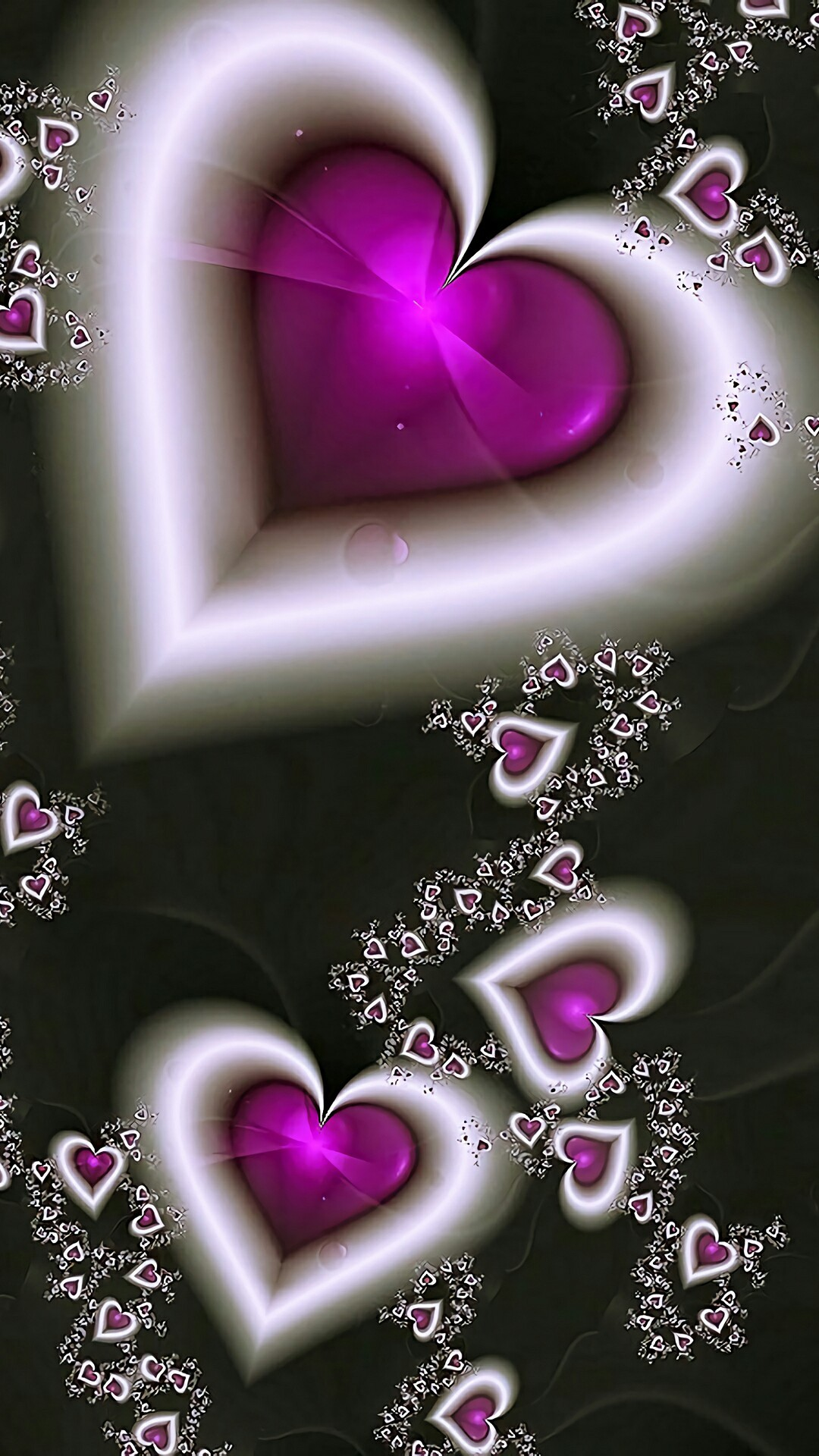 974949 love heart wallpaper 1080x1920 windows 7