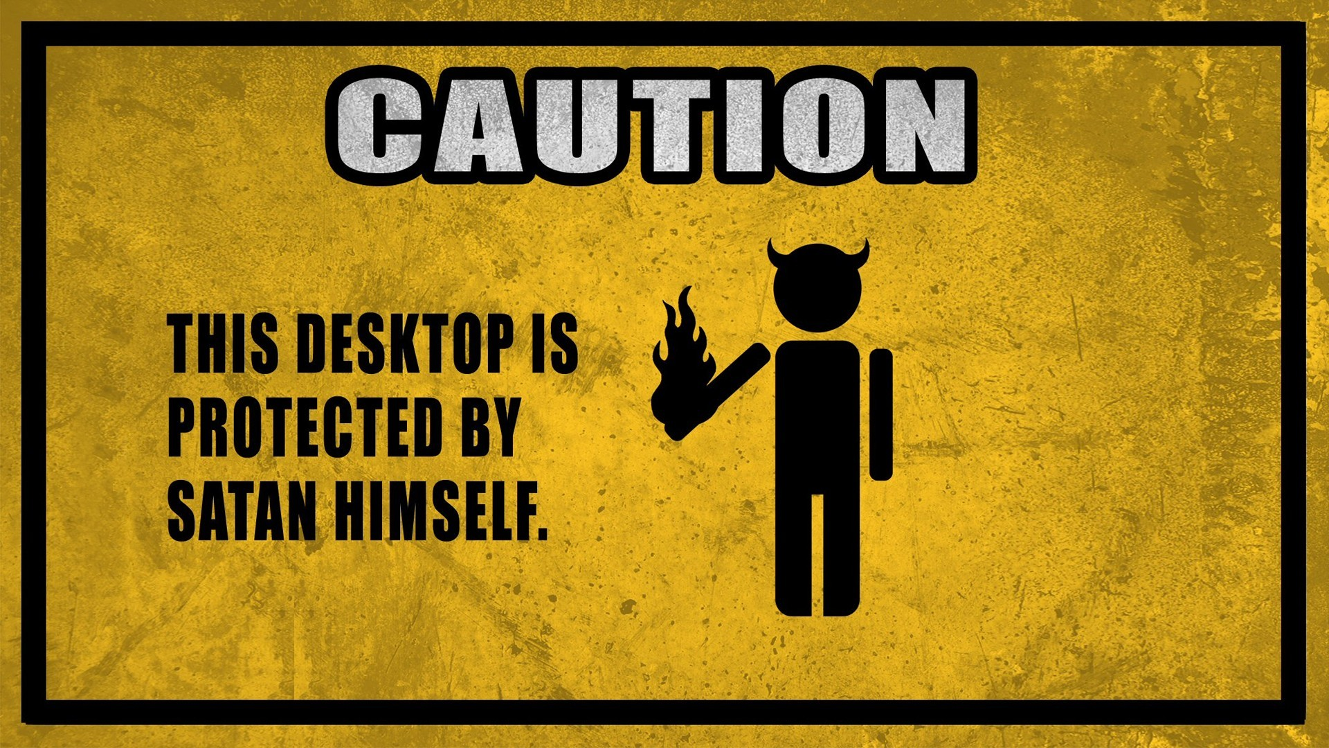 Funny Warning Signs Wallpaper (48+ images)