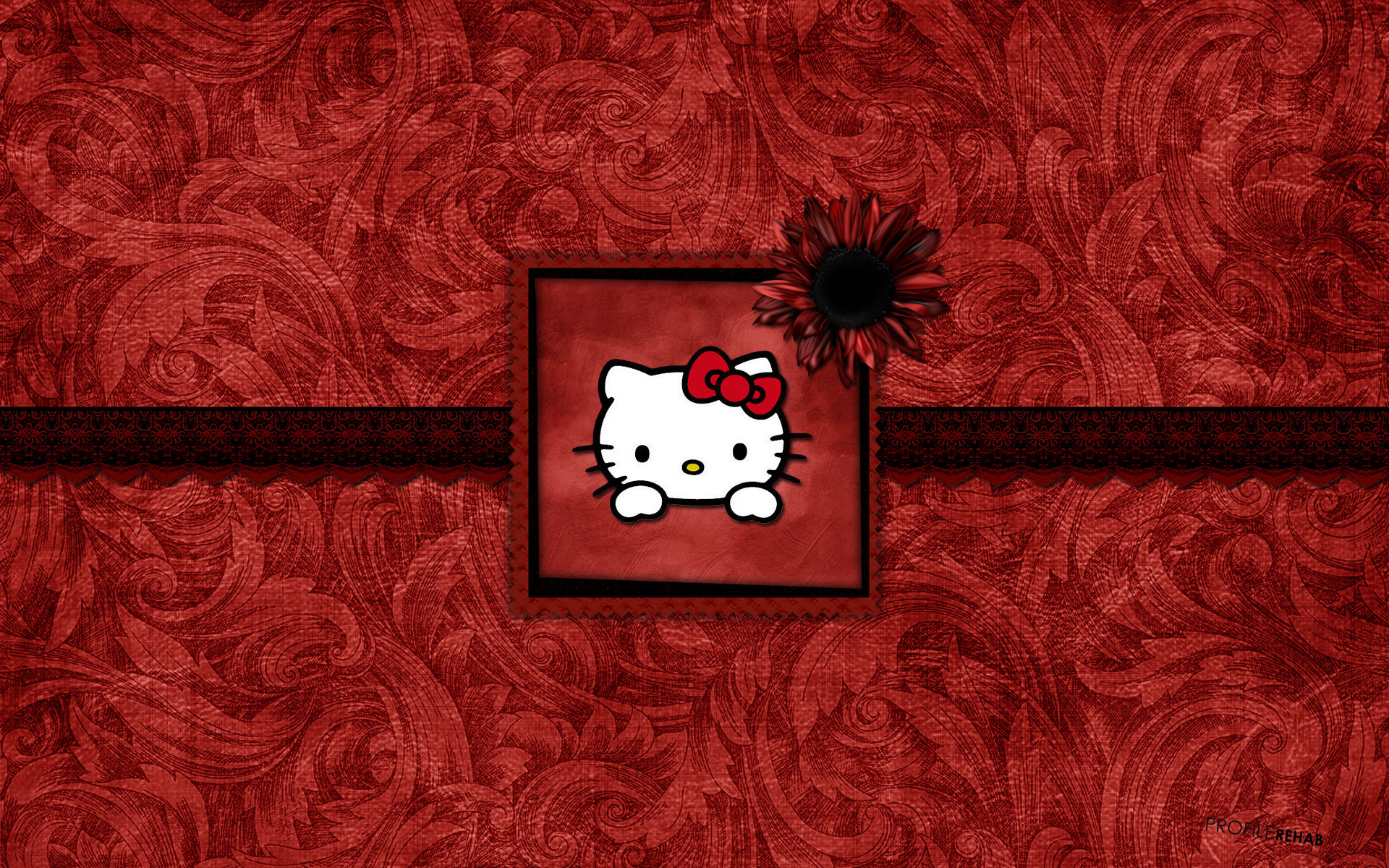 1920x1200 [] Black & Red Hello Kitty Wallpaper - Free Hello Kitty Background  - Wallpaper Download - Profilerehab