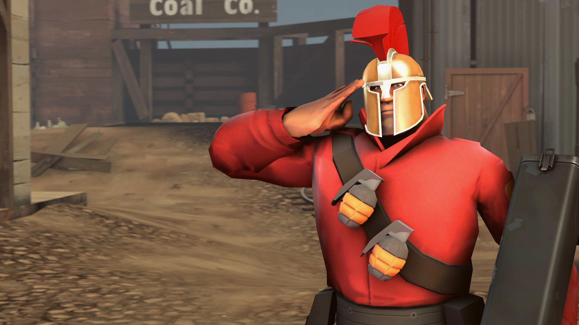 1920x1080 ... TF2 Loadout - Soldier 2 (Spartacus3321) by 360PraNKsTer