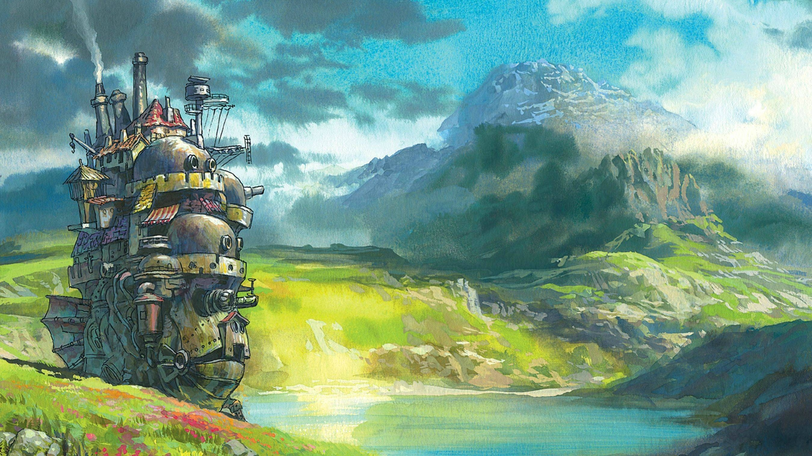 Howls Moving Castle Hd Wallpaper 69 Images