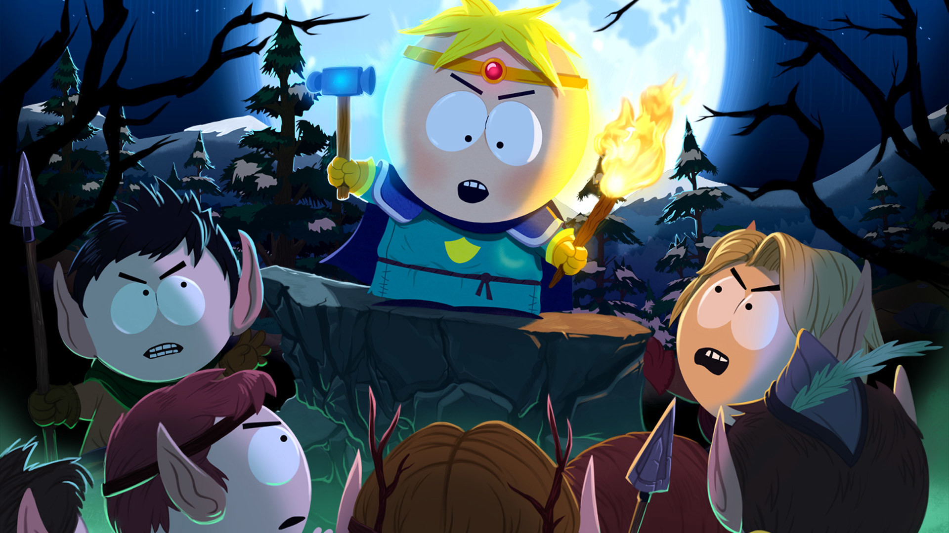1920x1200 South Park Widescreen Background