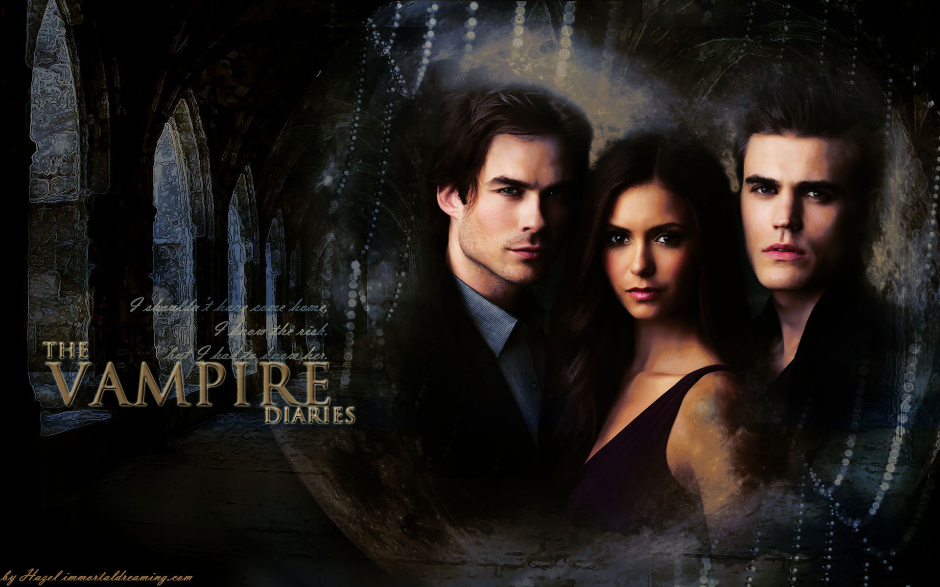 Wallpaper The Vampire Diaries: Damon Salvatore Vampire Diaries Wallpaper (76+ Images