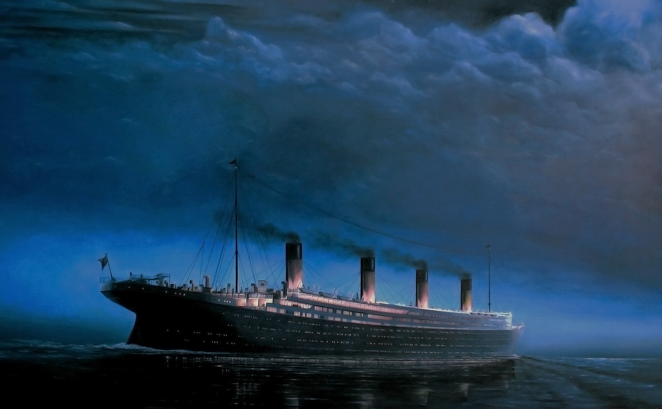 2302x1422 Wallpaper Of Titanic Ship