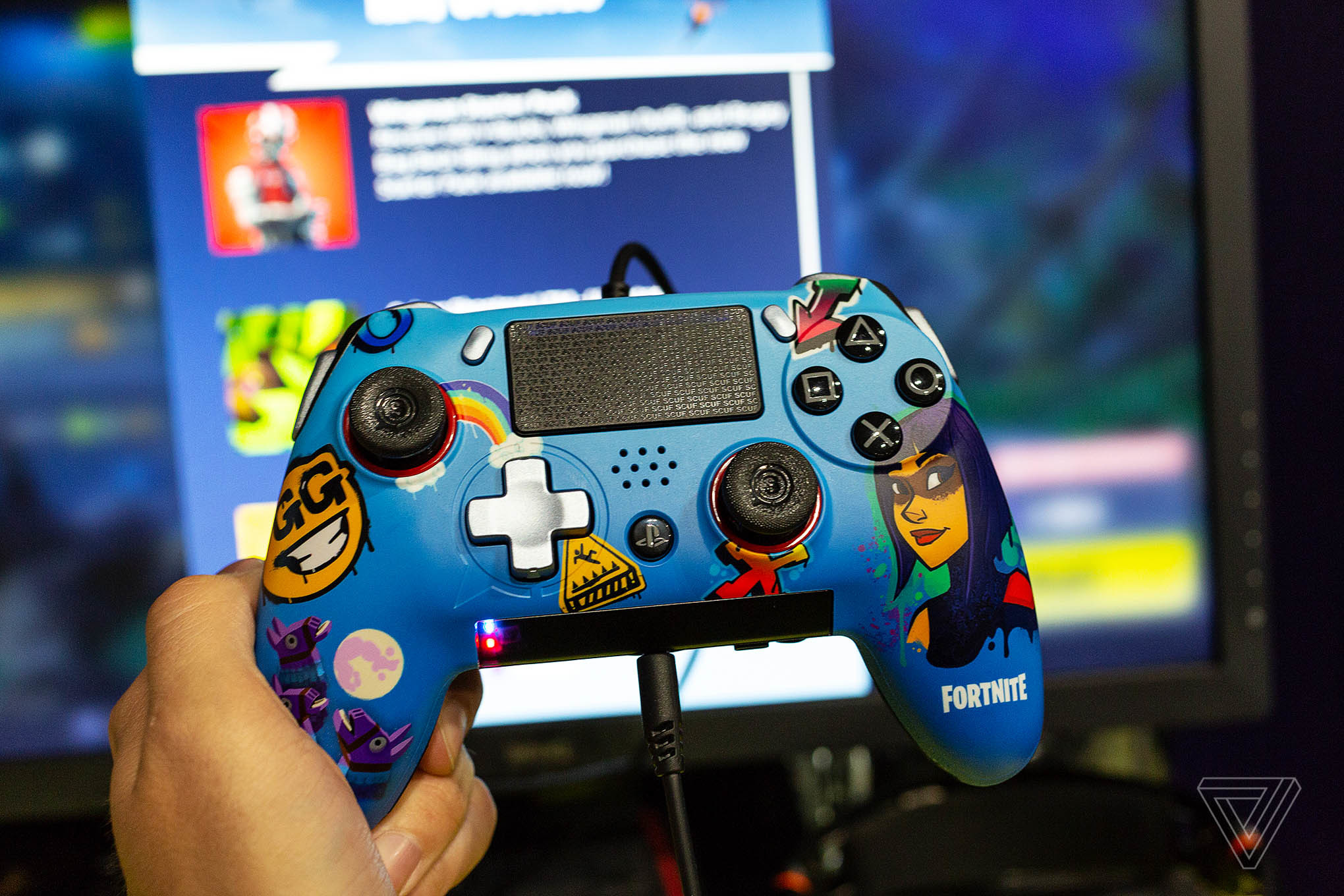 2040x1360 The Scuf Vantage is a Fortnite player's dream PS4 controller