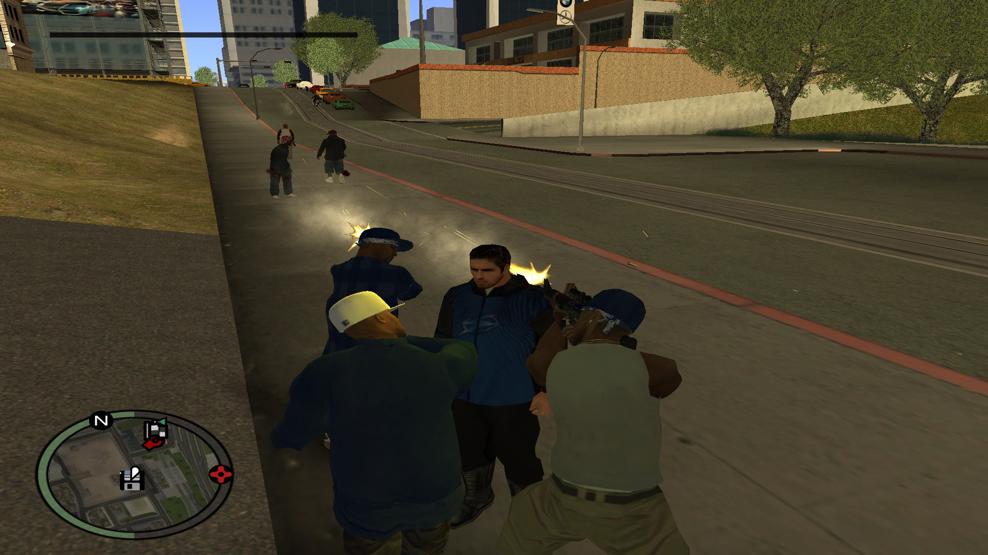 1920x1080 Add media Report RSS Crips Gang Friends shooting Bloods Enemies (view  original)