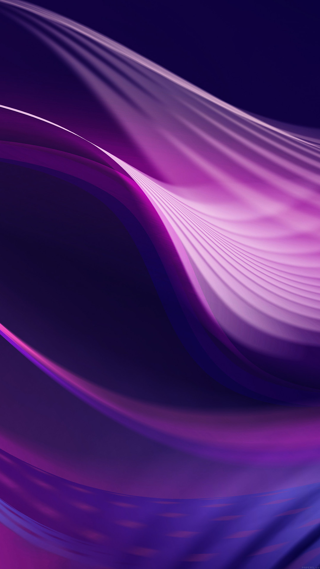 1080x1920 Wave Abstract Purple Pattern #iPhone #6 #plus #wallpaper